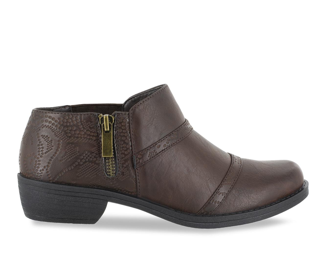 Easy Street Ira Women's Shoe (Brown Faux Leather)