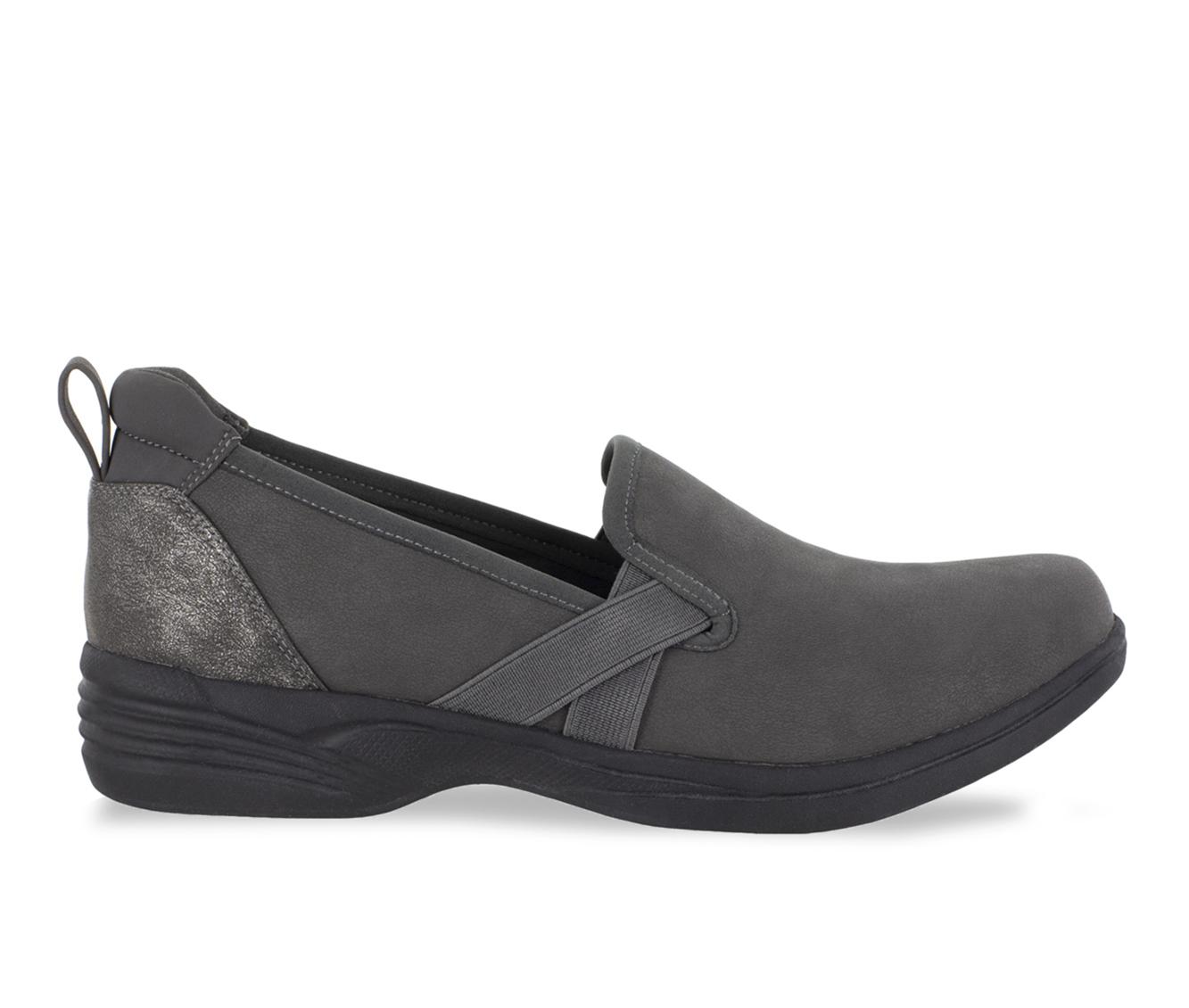 Easy Street Marvel Women's Shoe (Gray Faux Leather)
