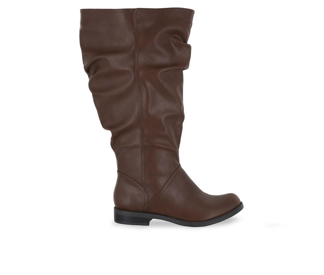 Easy Street Peak Plus Plus Women's Boots (Beige - Faux Leather)