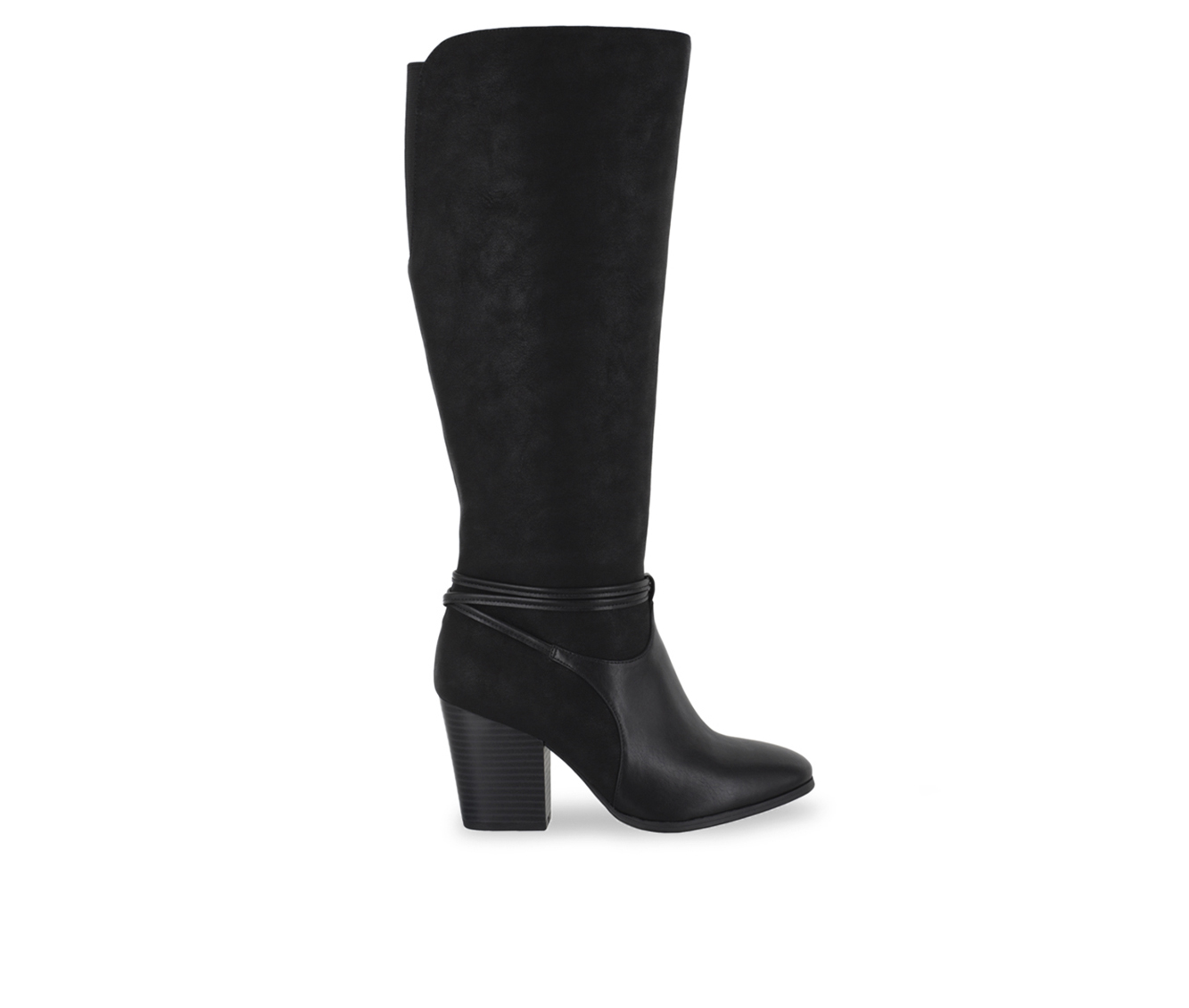 Easy Street Premium Women's Boot (Black Faux Leather)
