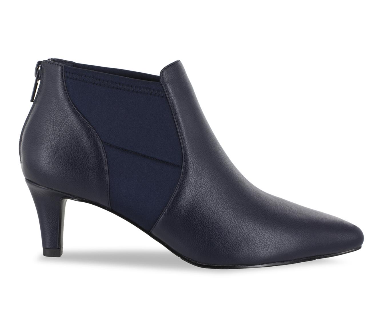 Easy Street Saint Women's Boot (Blue Faux Leather)