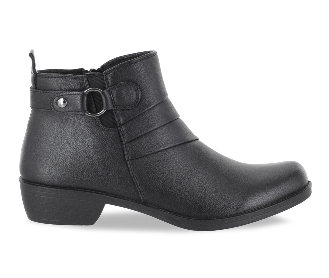 Easy Street Shanna Women's Boots (Black - Faux Leather)