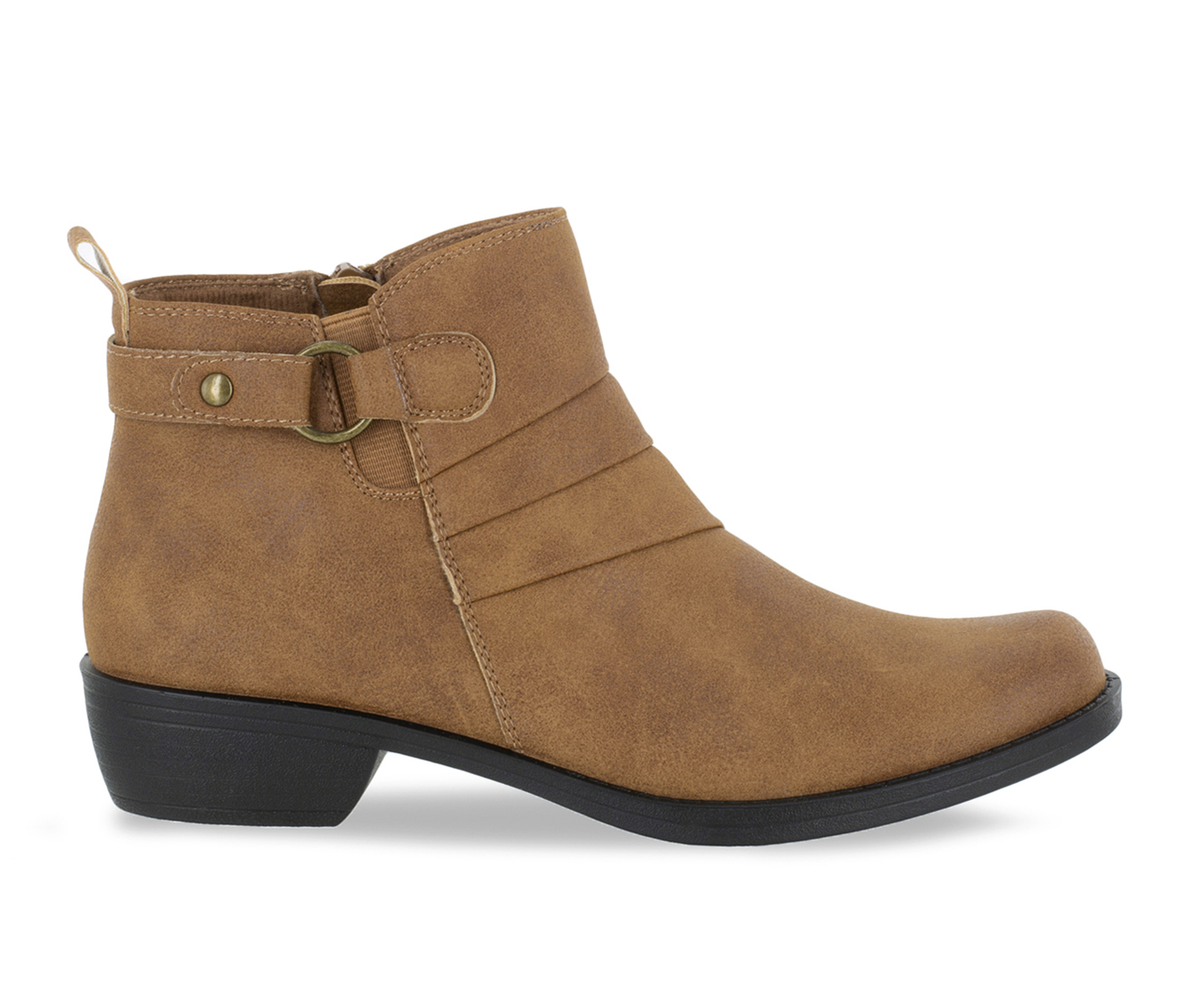 Easy Street Shanna Women's Boot (Brown Faux Leather)