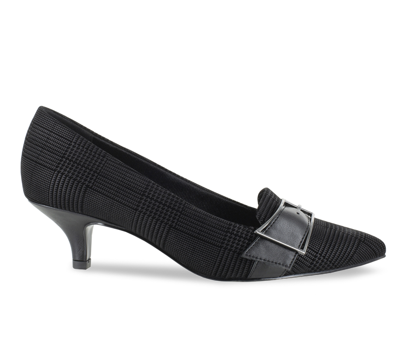 Easy Street Exquisite Women's Dress Shoe (Black Canvas)