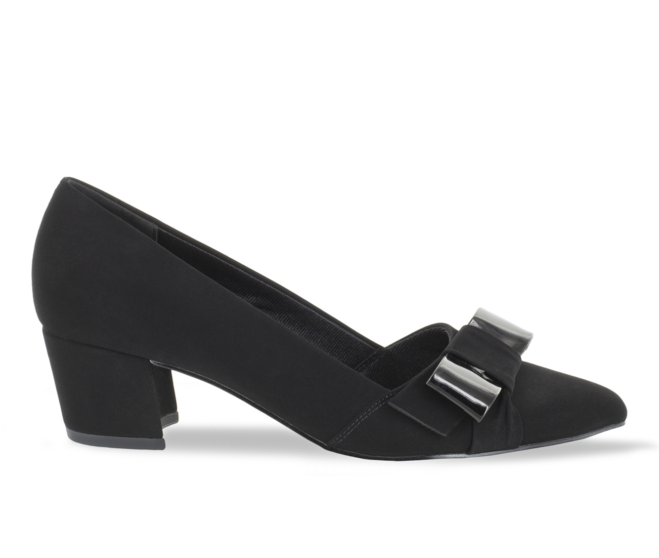 Easy Street Triana Women's Dress Shoe (Black Canvas)