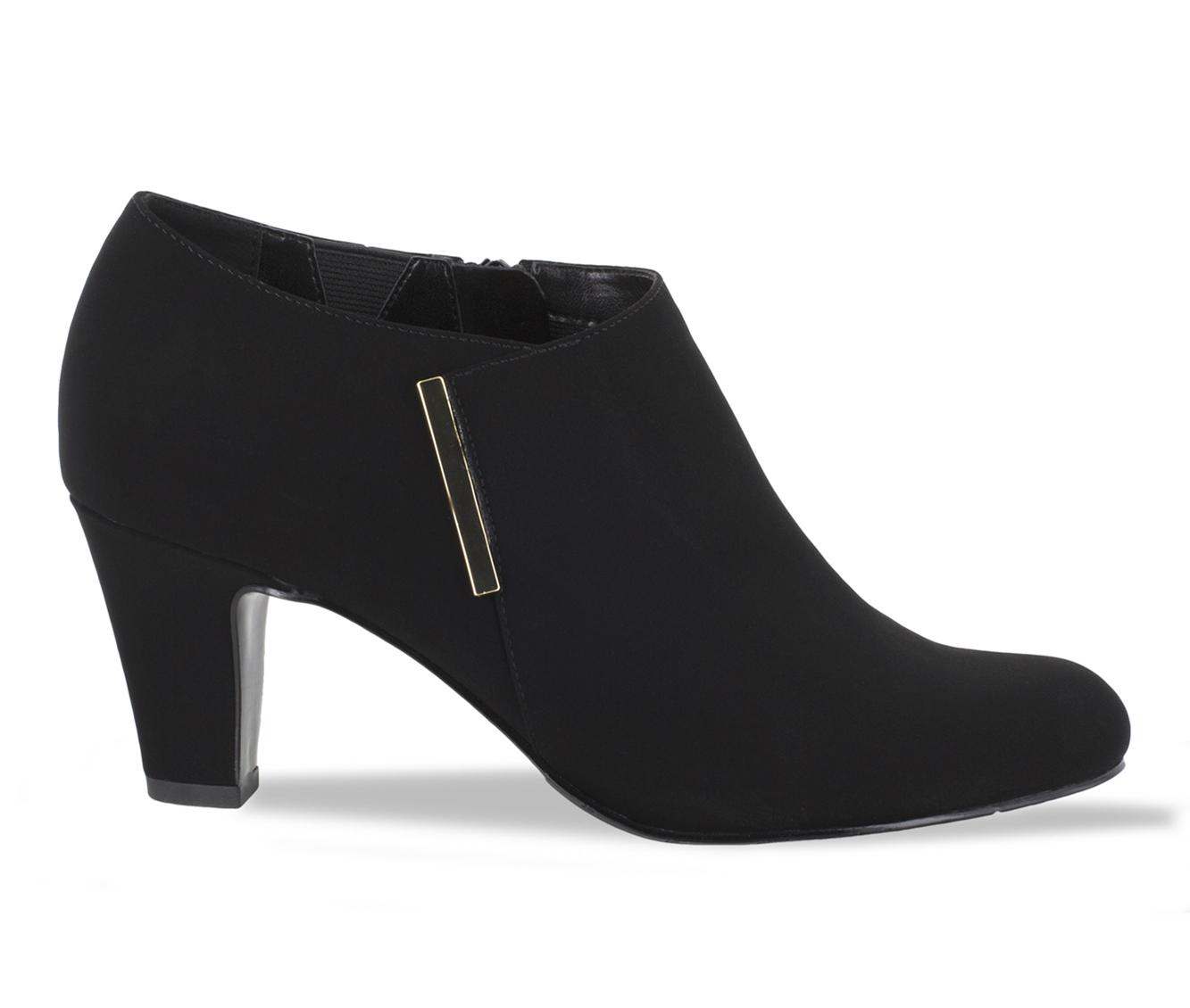 Easy Street Zandra Women's Dress Shoe (Black Canvas)