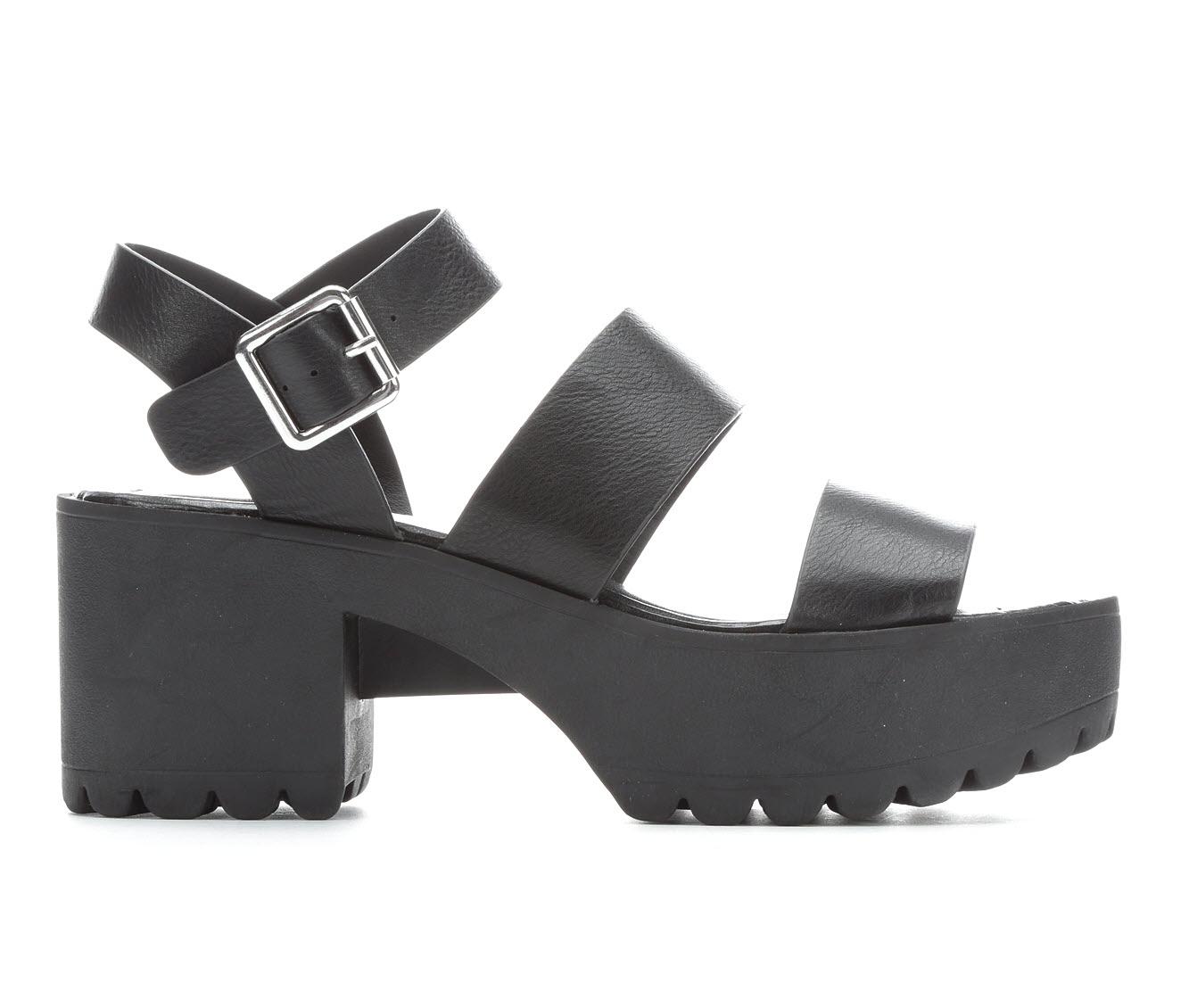 Madden Girl Carter Women's Dress Shoe (Black Faux Leather)