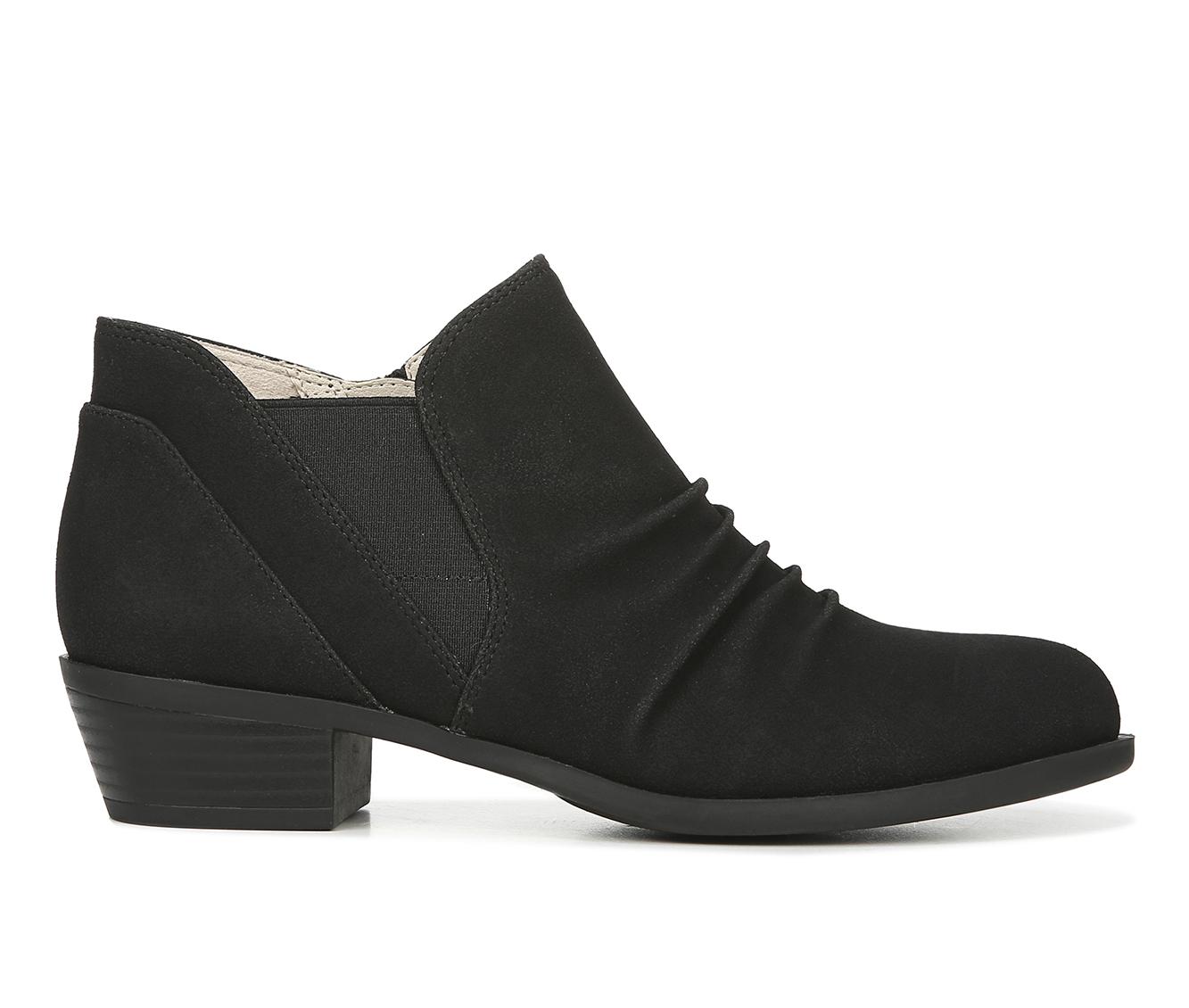 LifeStride Aurora Women's Boot (Black Faux Leather)