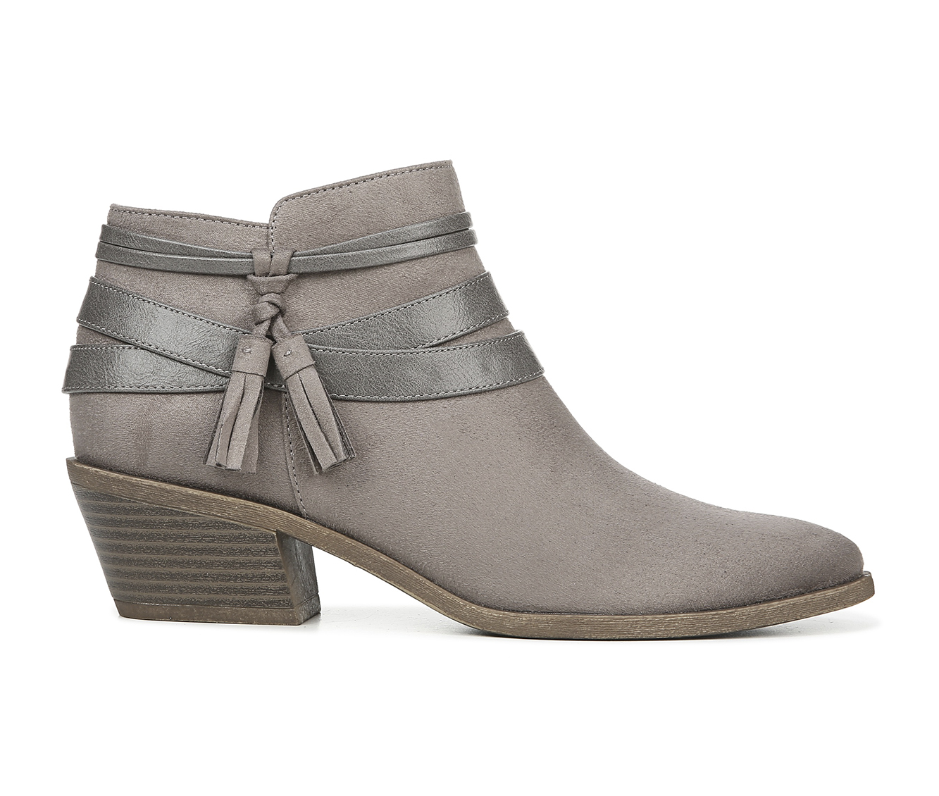 LifeStride Paloma Women's Boot (Gray Canvas)
