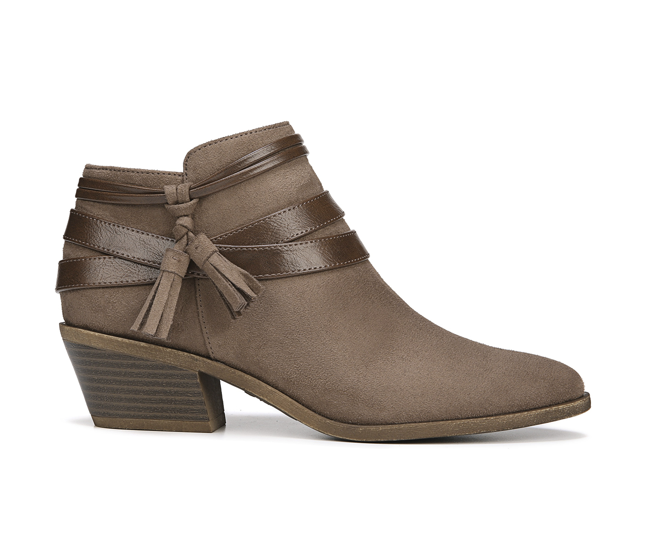 LifeStride Paloma Women's Boots (Brown - Canvas)