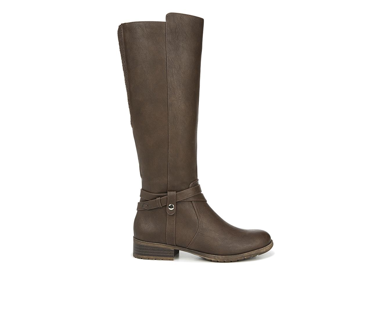 LifeStride Xtrovert Women's Boots (Brown - Faux Leather)