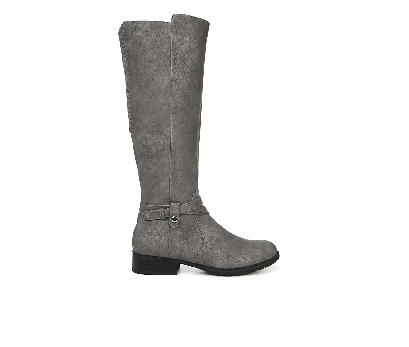 LifeStride Xtrovert Women's Boot (Gray Faux Leather)