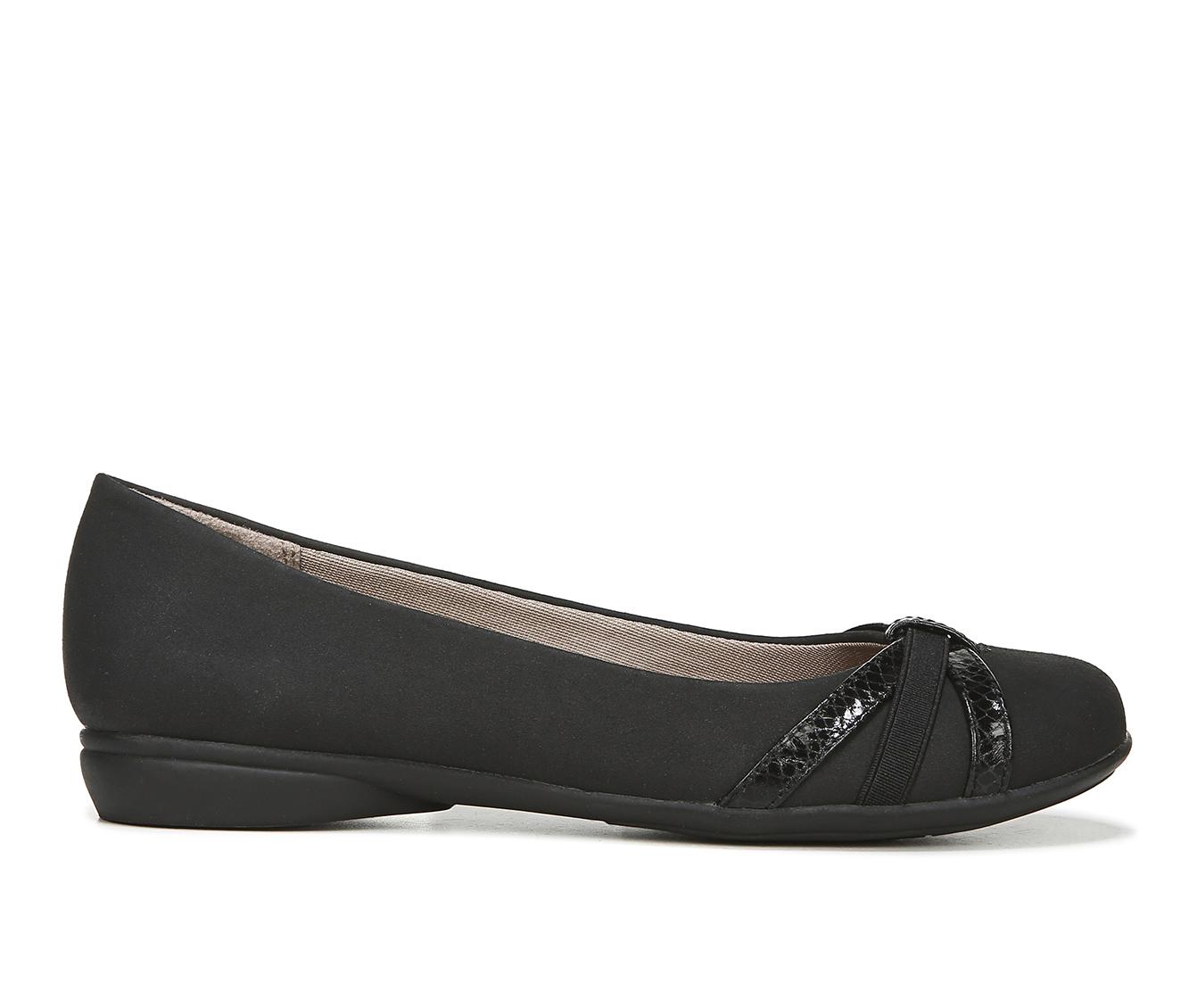 LifeStride Abigail Women's Shoe (Black Faux Leather)