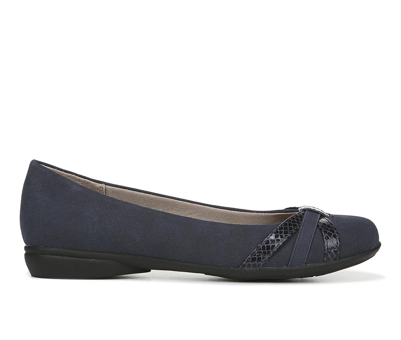 LifeStride Abigail Women's Shoe (Blue Faux Leather)
