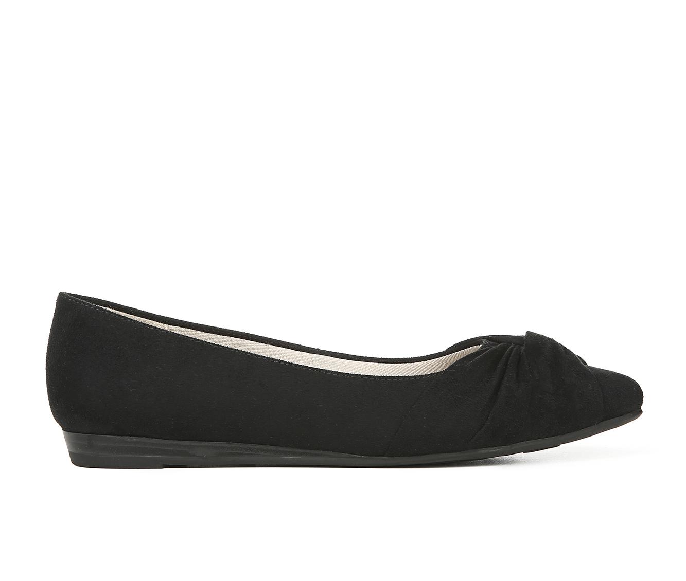 LifeStride Quaid Women's Shoe (Black Canvas)