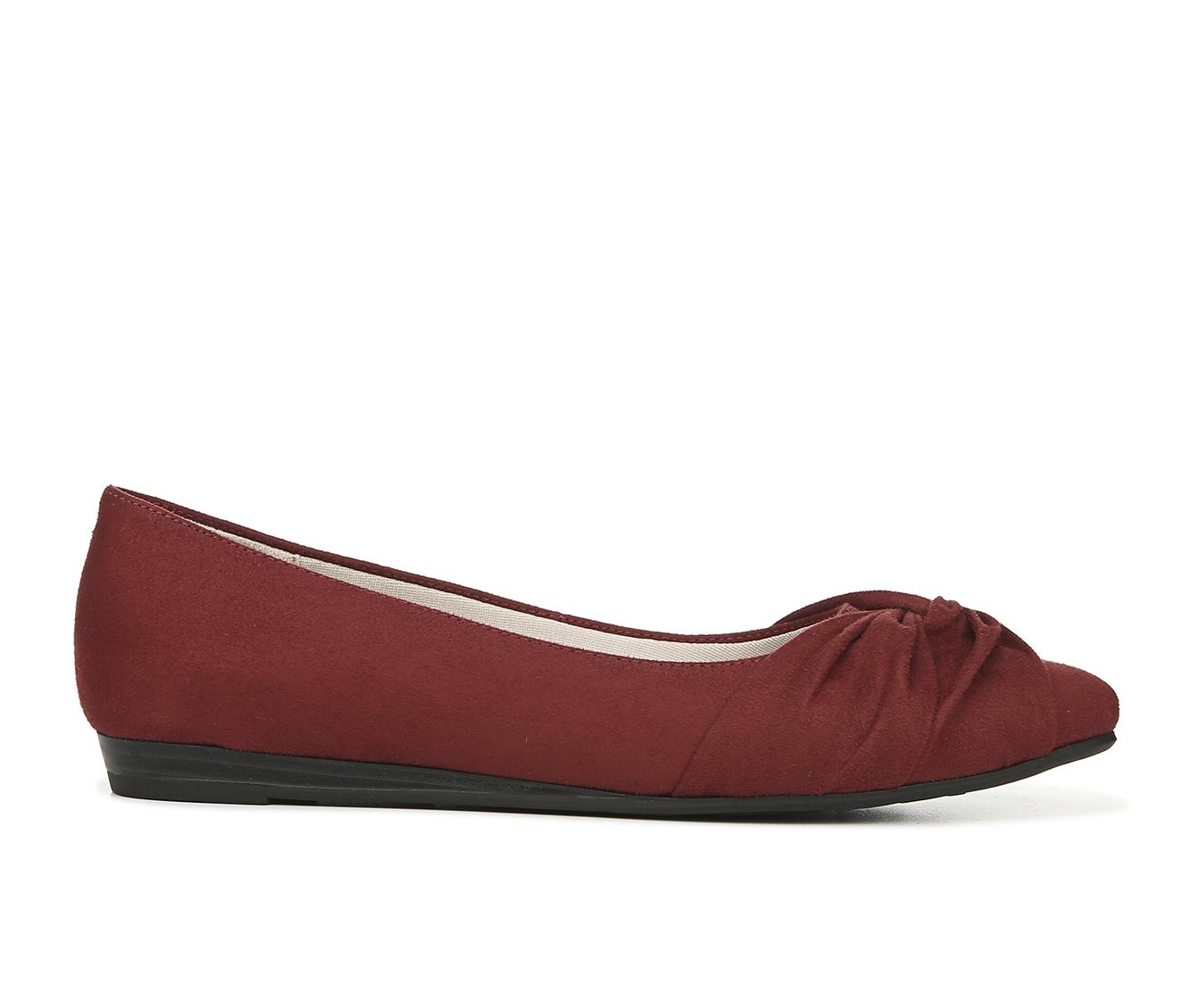 LifeStride Quaid Women's Shoe (Red Canvas)