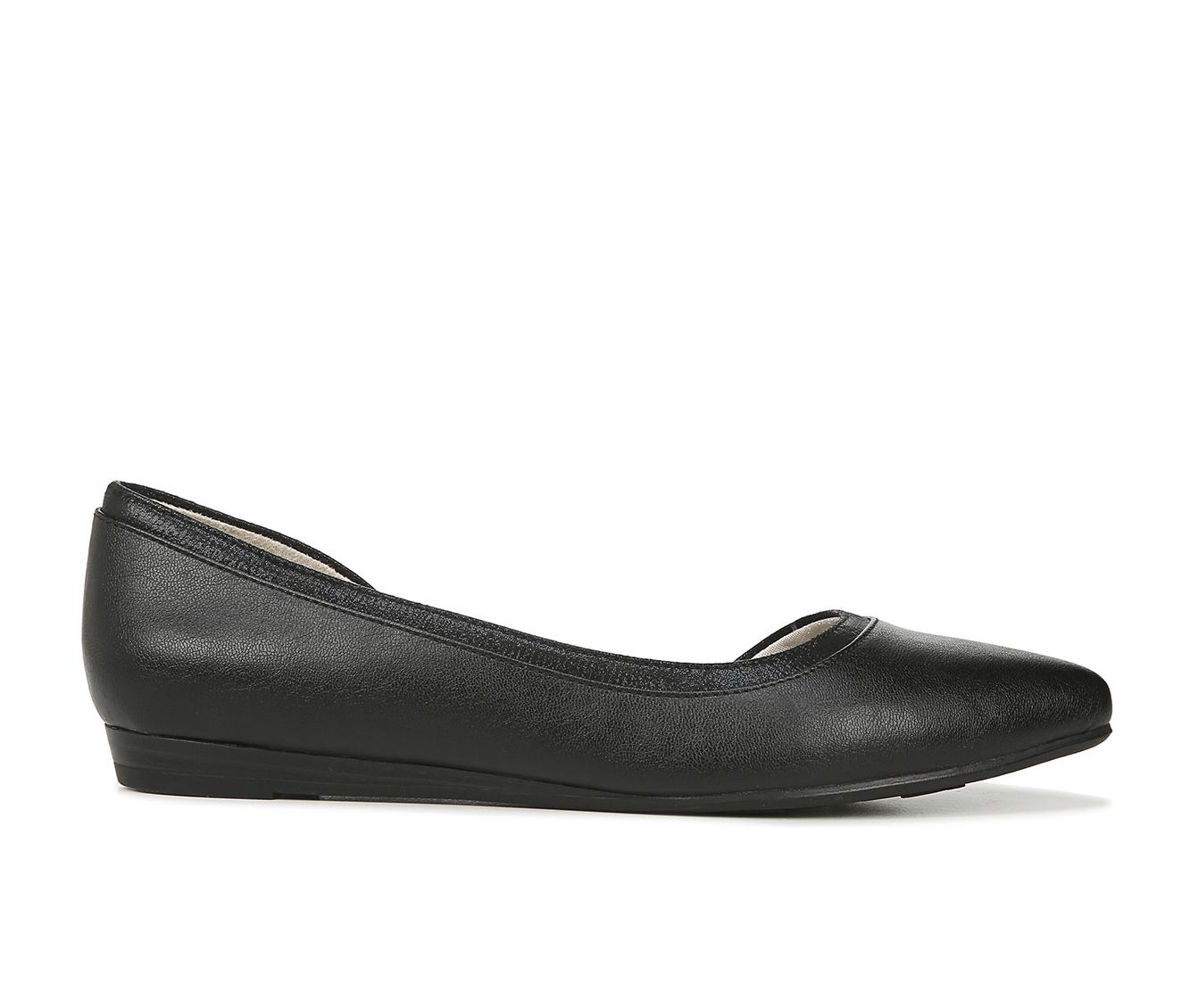 LifeStride Quincy Women's Shoe (Black Faux Leather)