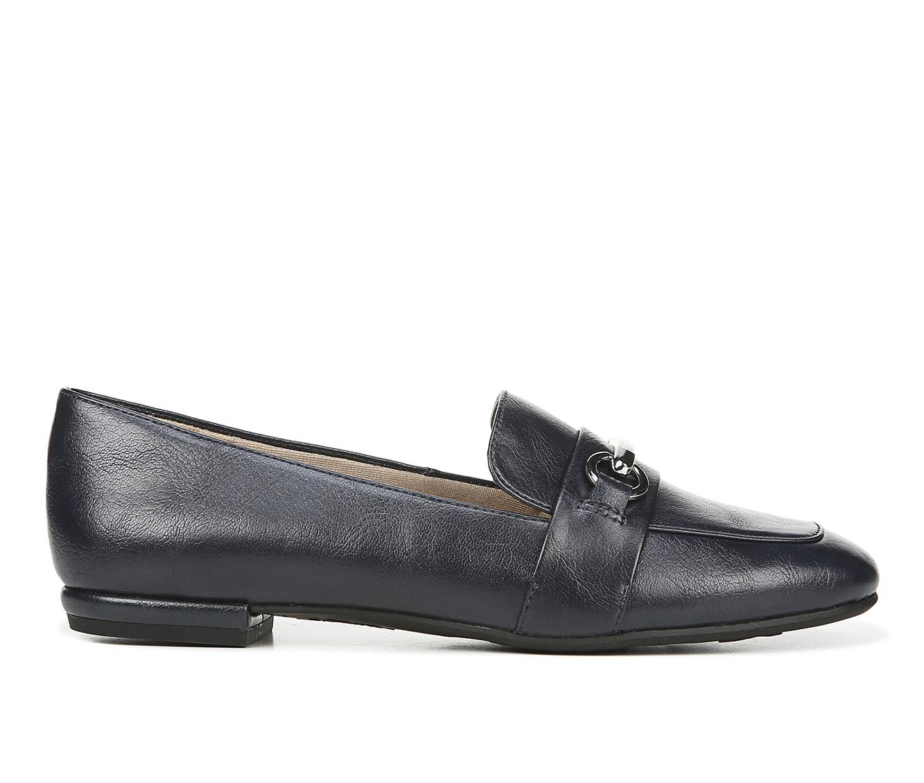 LifeStride Brie Women's Shoe (Blue Faux Leather)
