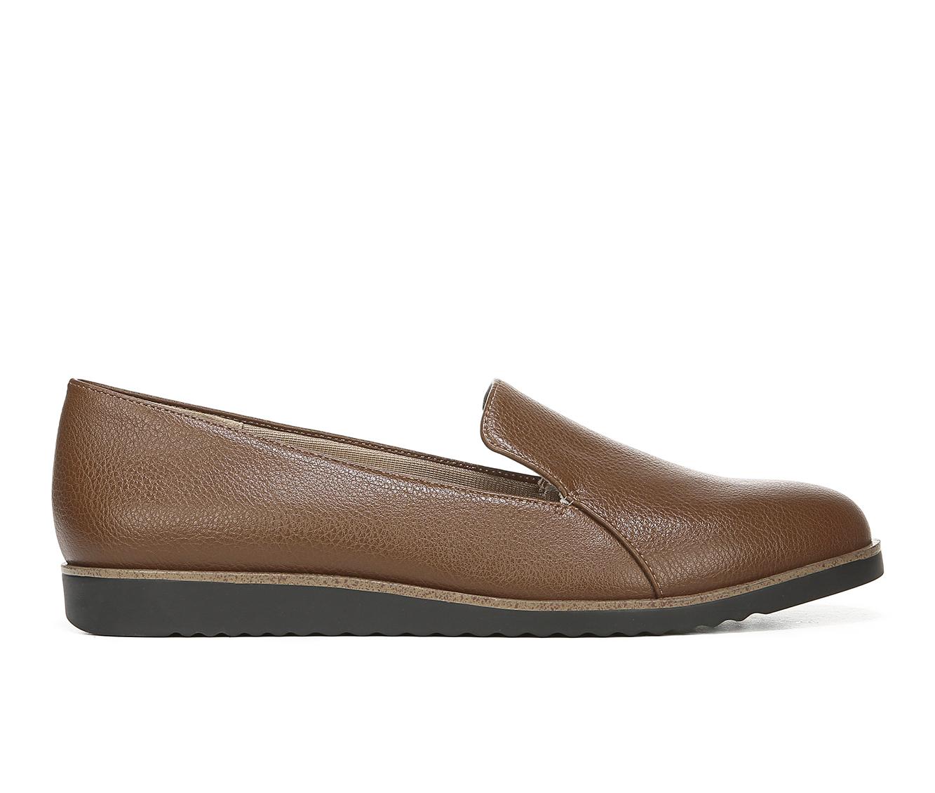 LifeStride Zendaya Women's Shoe (Brown Faux Leather)