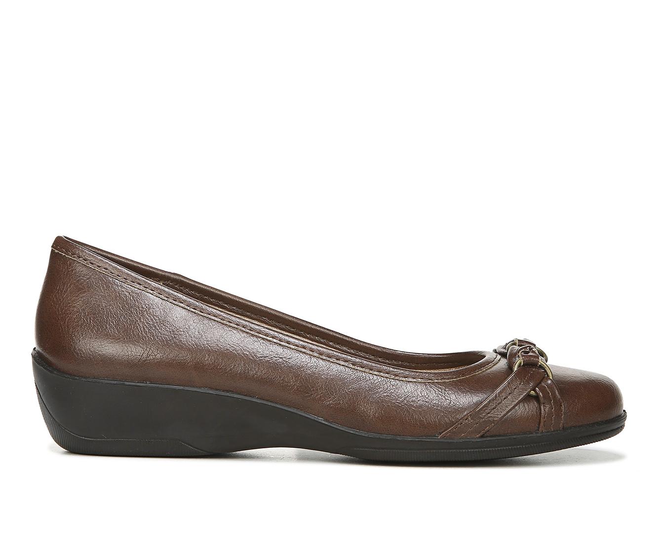 LifeStride Inga Women's Shoe (Brown Faux Leather)
