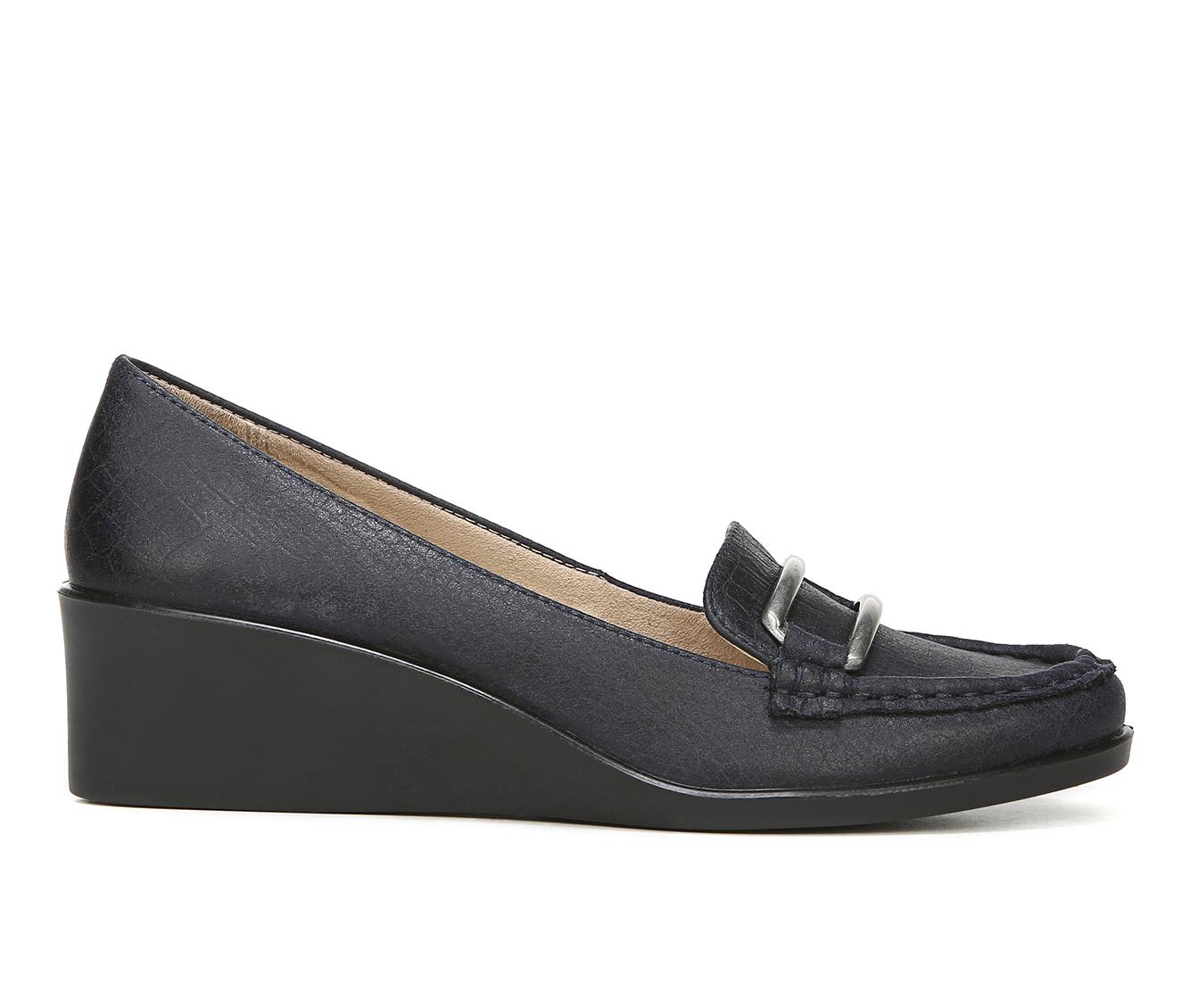 LifeStride Lennox Women's Shoe (Blue Faux Leather)