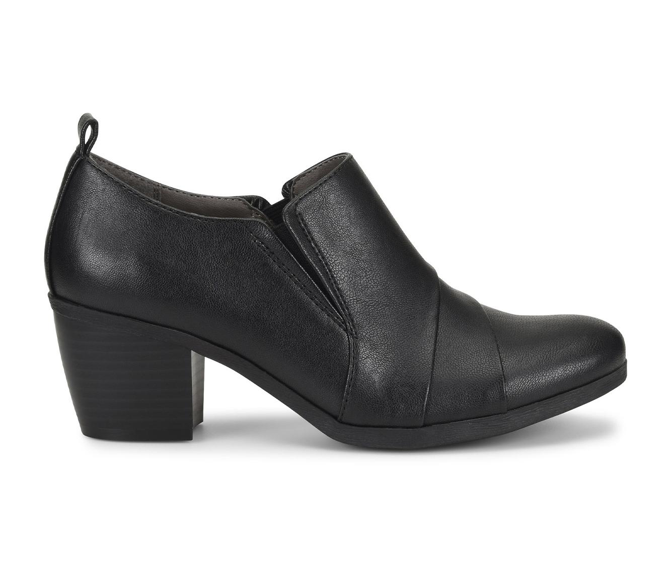 EuroSoft Ashby Women's Shoe (Black Faux Leather)