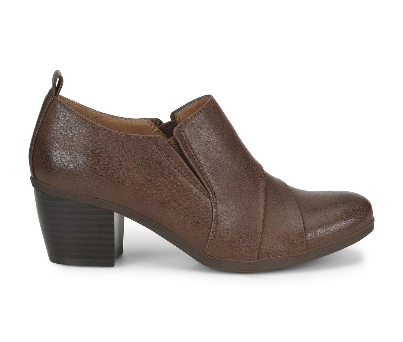 EuroSoft Ashby Women's Shoe (Brown Faux Leather)