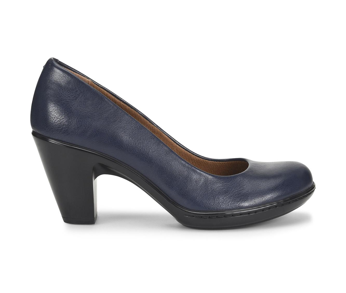 EuroSoft Vella Women's Dress Shoe (Blue Faux Leather)