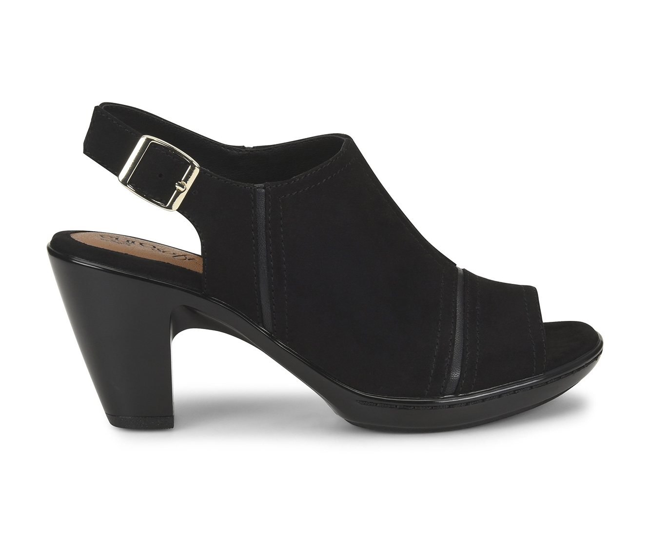 EuroSoft Viola Women's Dress Shoe (Black Canvas)