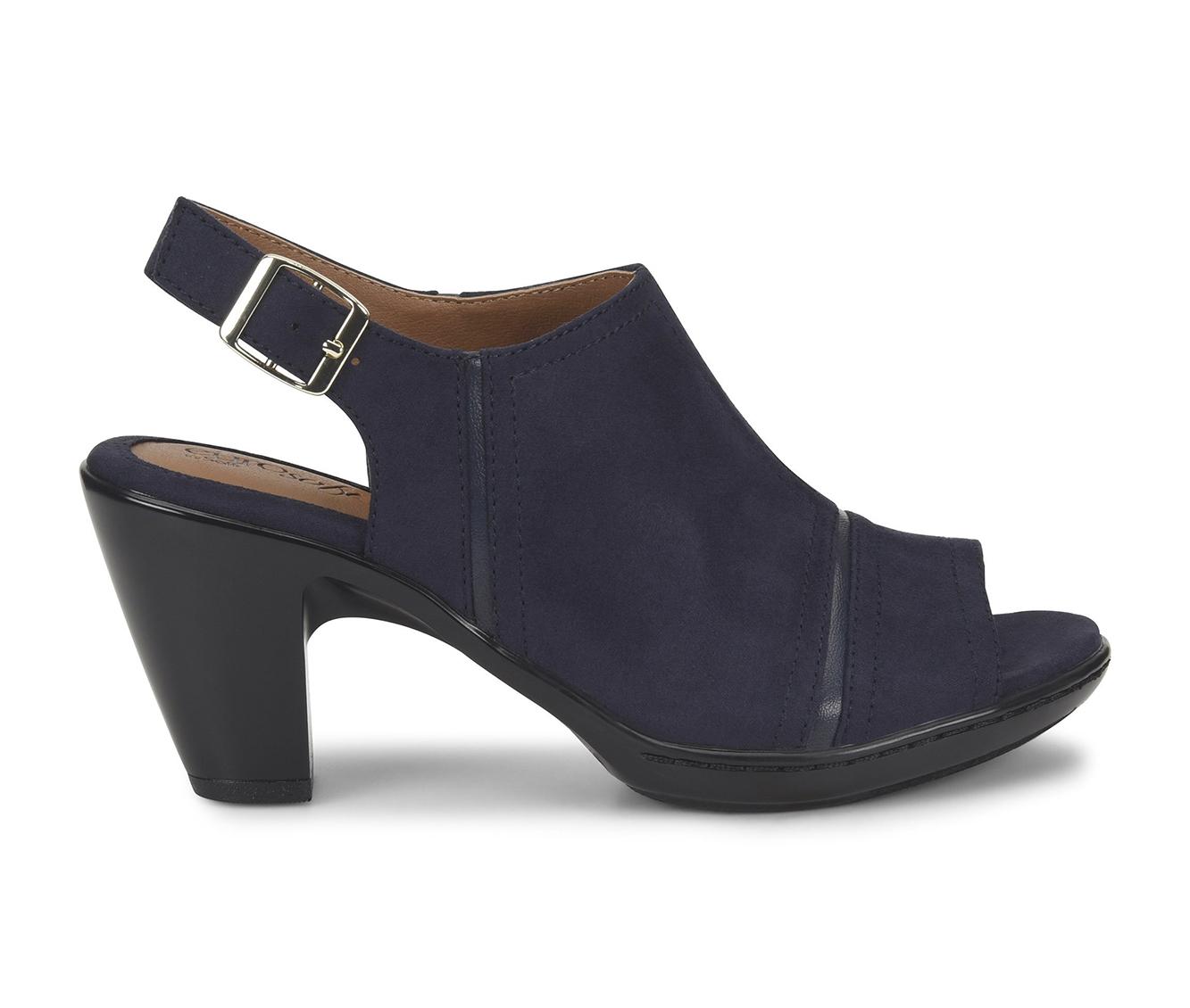 EuroSoft Viola Women's Dress Shoe (Blue Canvas)