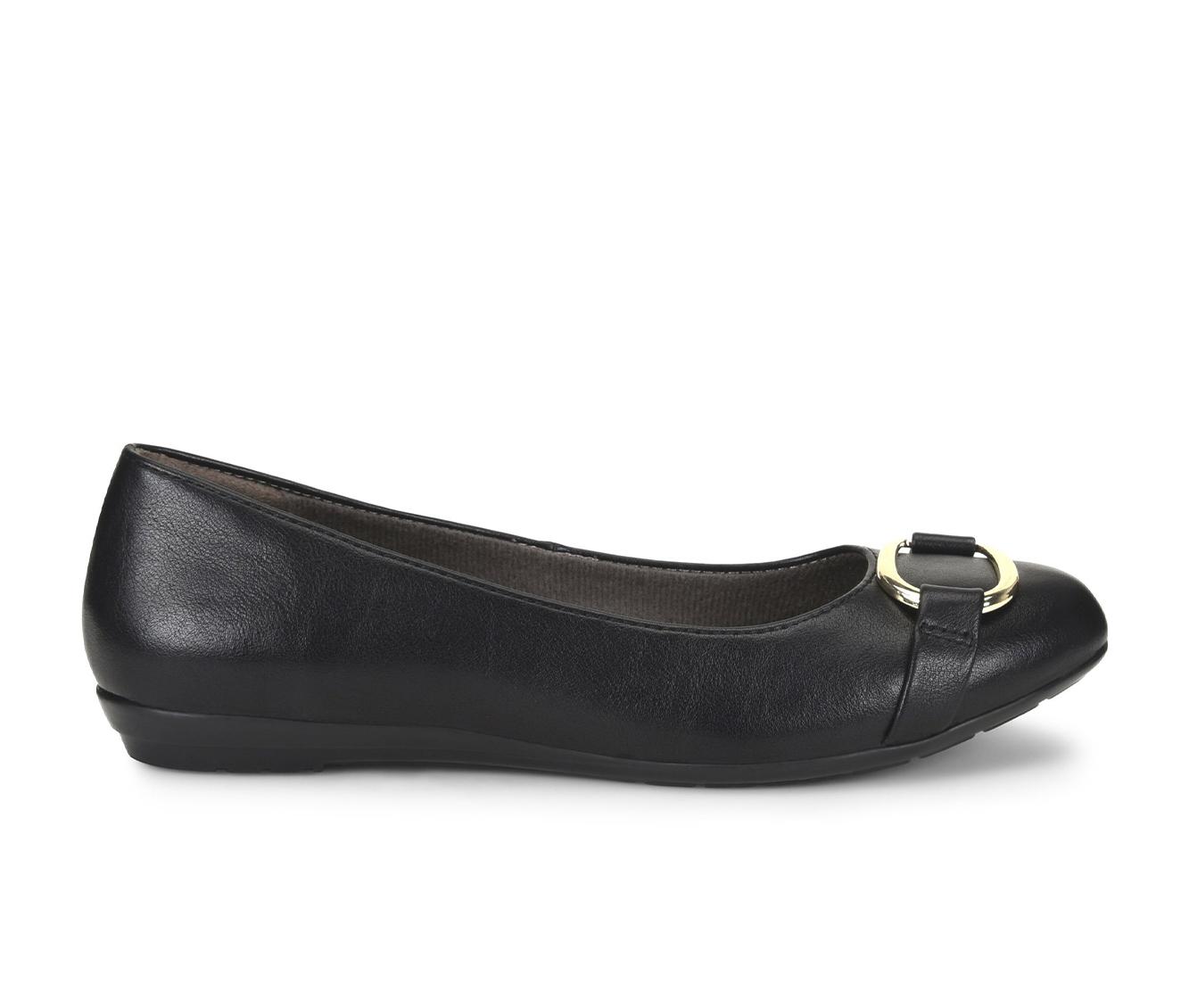 EuroSoft Beverly Women's Shoe (Black Faux Leather)