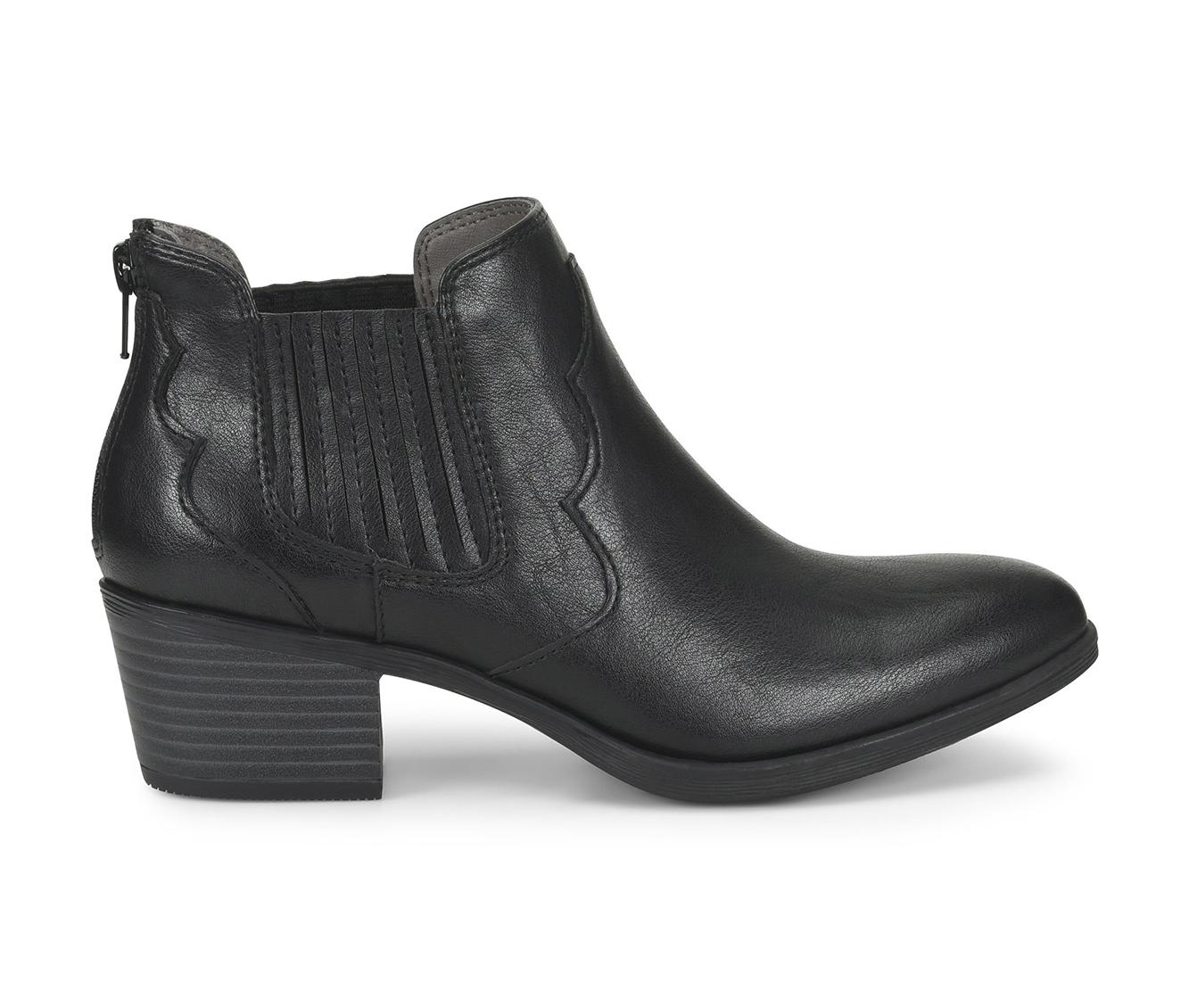 EuroSoft Adalene Women's Boot (Black Faux Leather)
