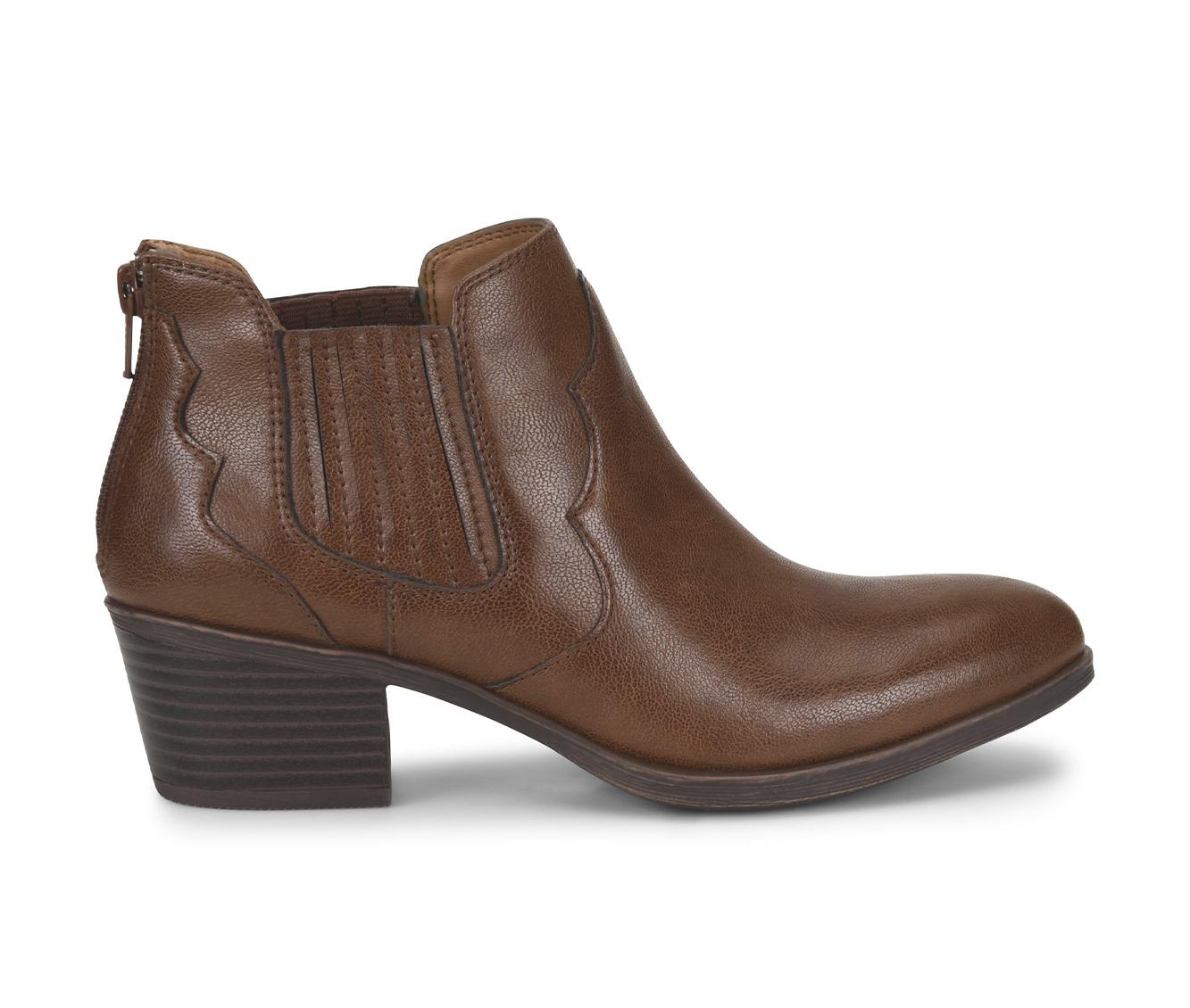 EuroSoft Adalene Women's Boots (Brown - Faux Leather)