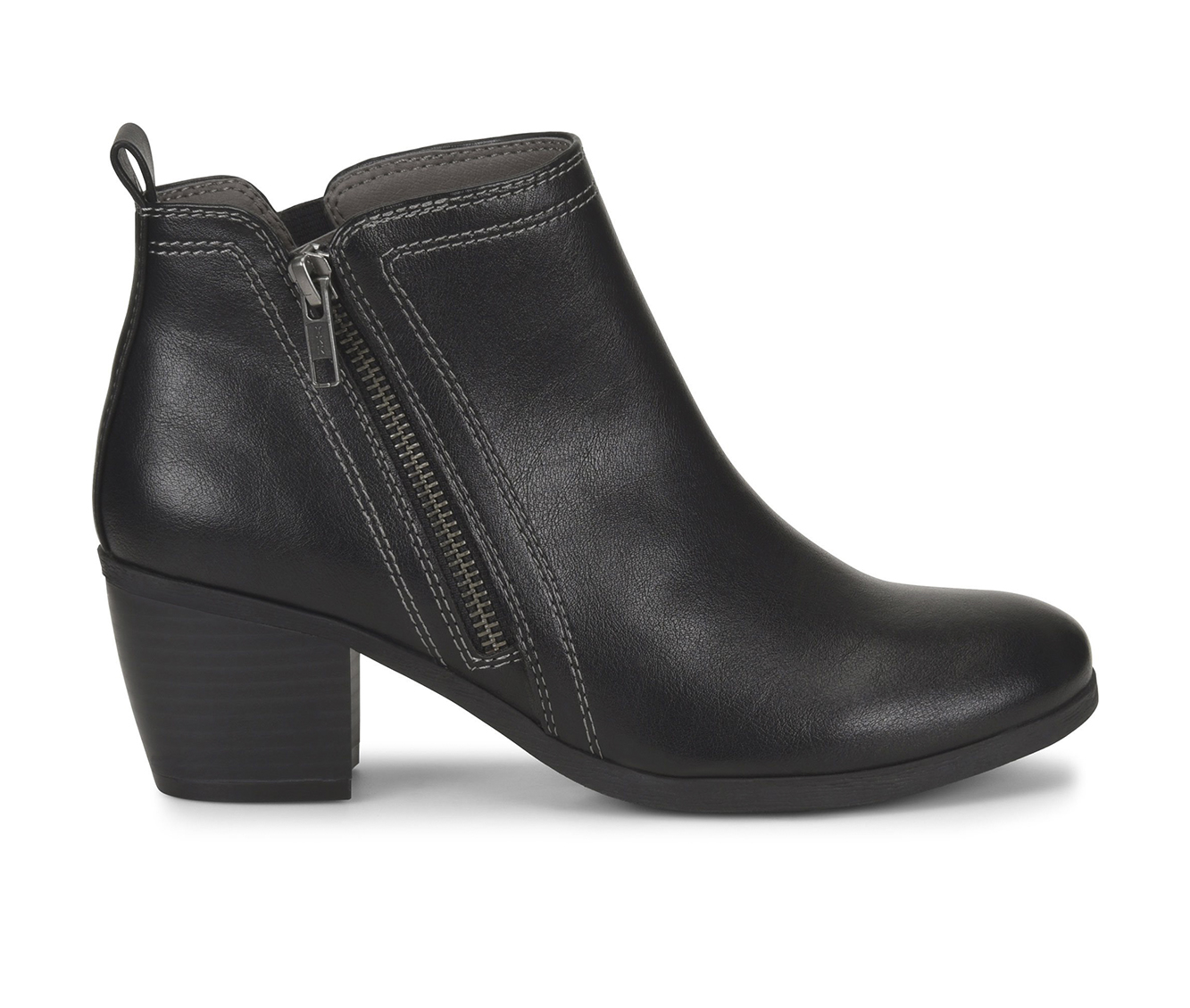 EuroSoft Adona Women's Boot (Black Faux Leather)