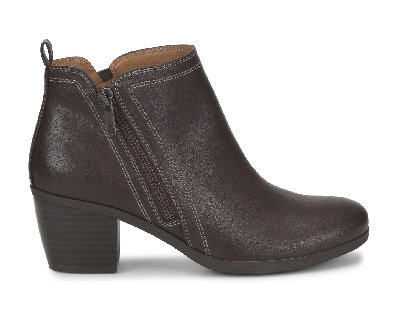 EuroSoft Adona Women's Boot (Brown Faux Leather)
