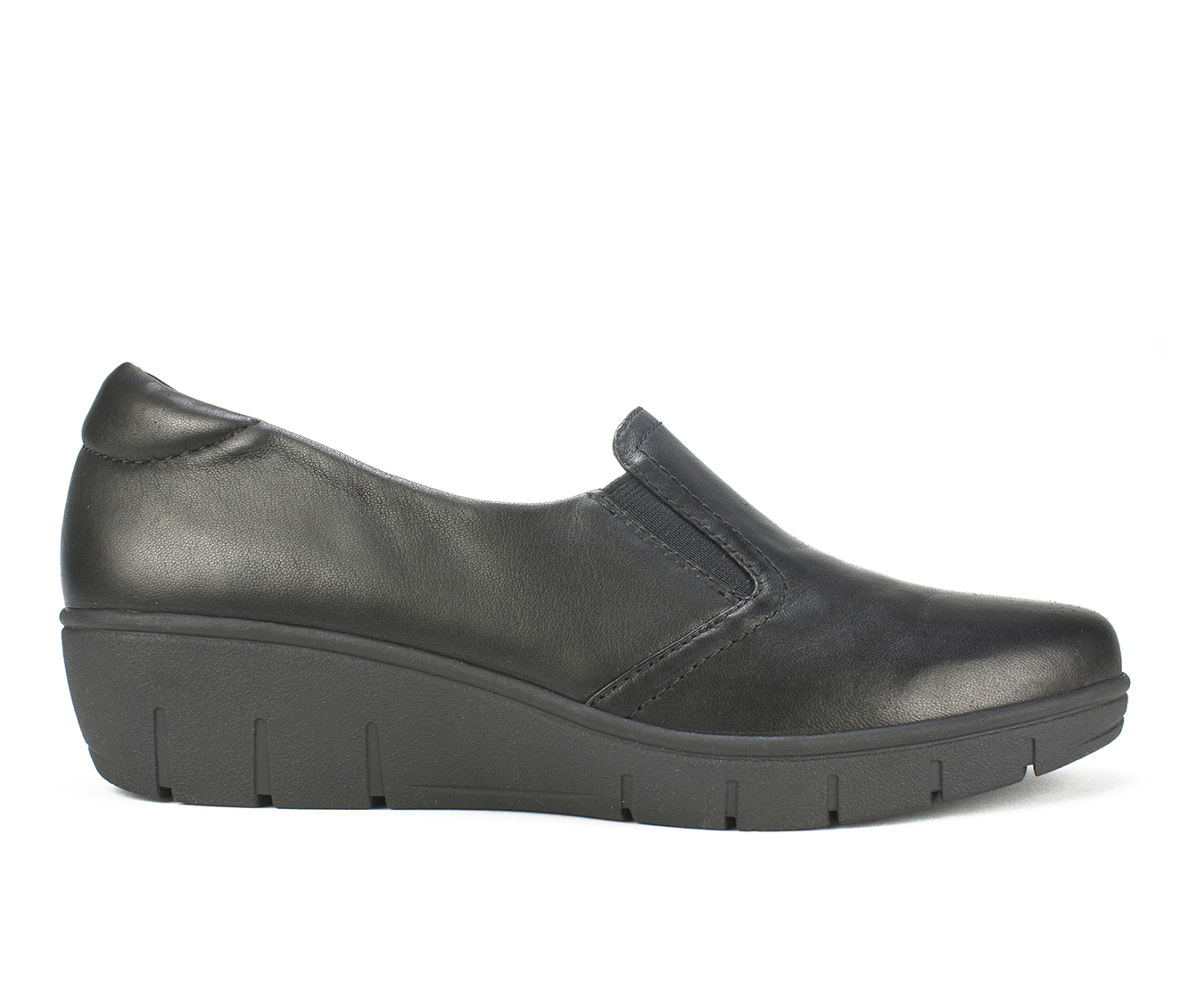 Cliffs Ella Women's Shoe (Black Leather)