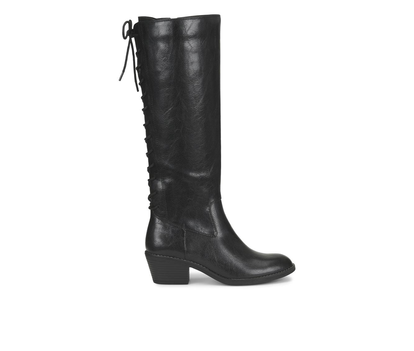 EuroSoft Carlen Women's Boot (Black Faux Leather)