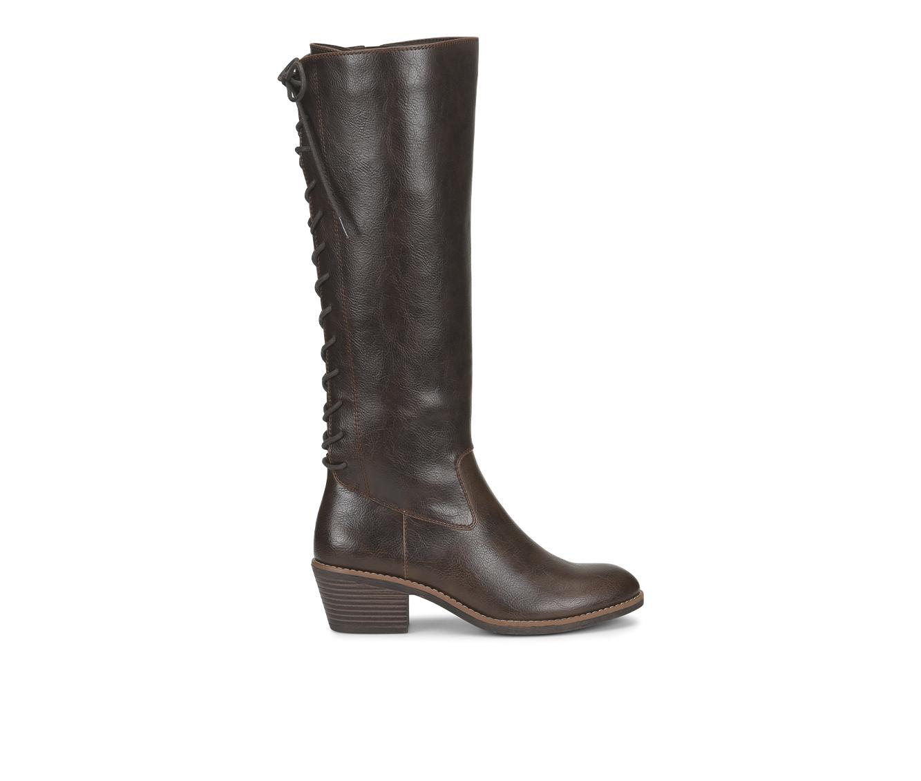 EuroSoft Carlen Women's Boot (Brown Faux Leather)