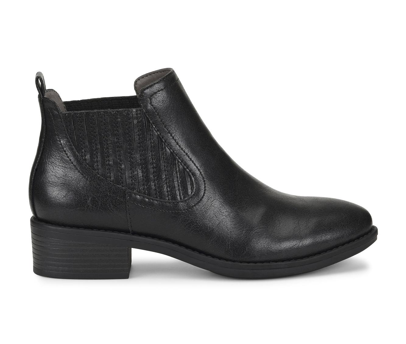 EuroSoft Colisa Women's Boot (Black Faux Leather)