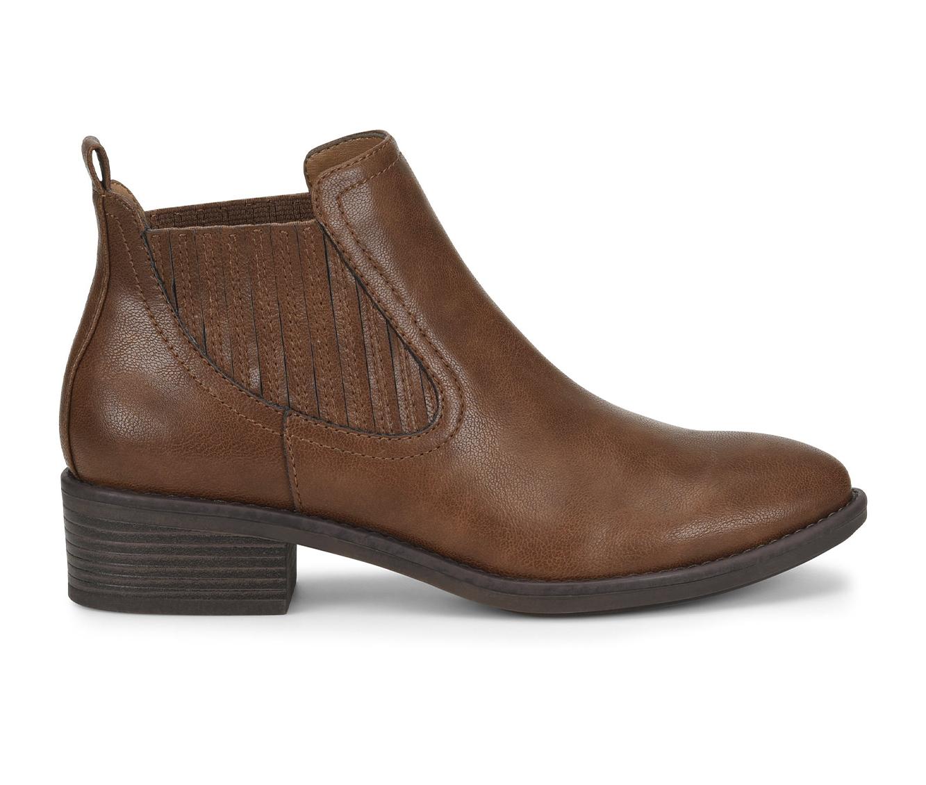 EuroSoft Colisa Women's Boots (Brown - Faux Leather)