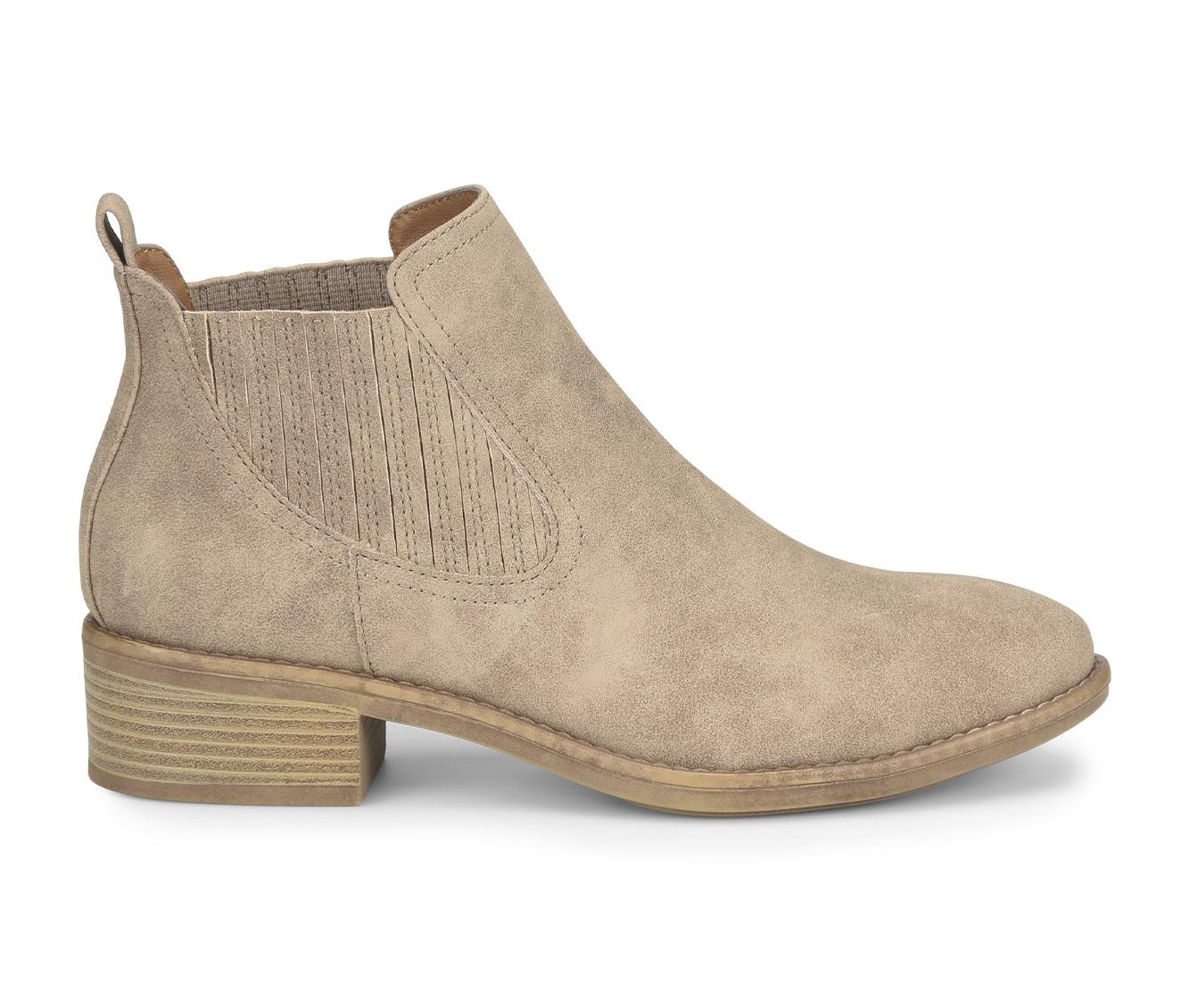 EuroSoft Colisa Women's Boots (Beige - Faux Leather)