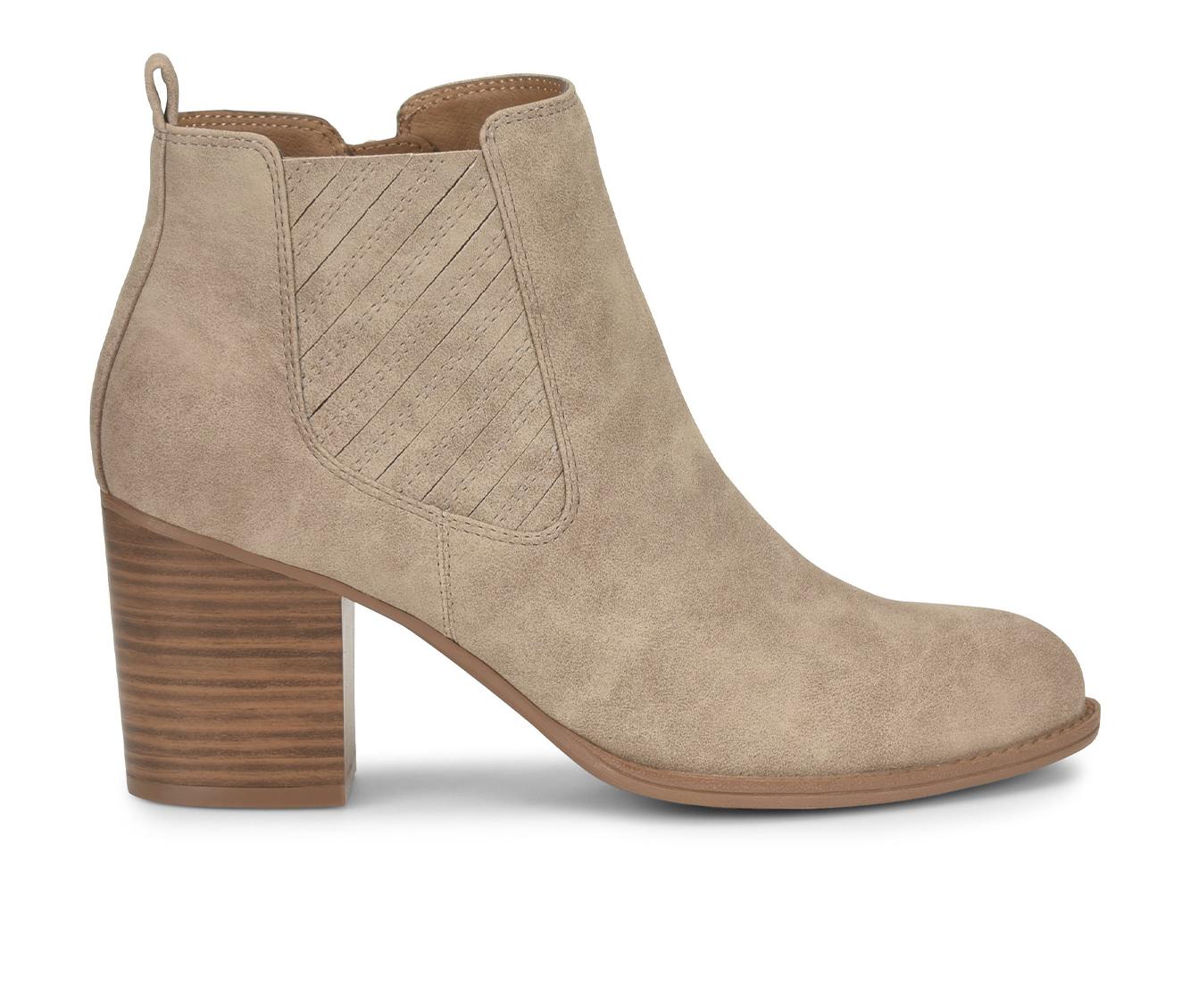 EuroSoft Salida Women's Boots (Beige - Faux Leather)