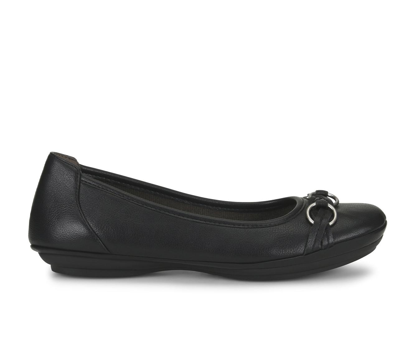 EuroSoft Sabana Women's Shoe (Black Faux Leather)
