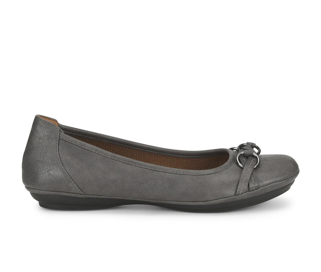 EuroSoft Sabana Women's Shoe (Gray Faux Leather)