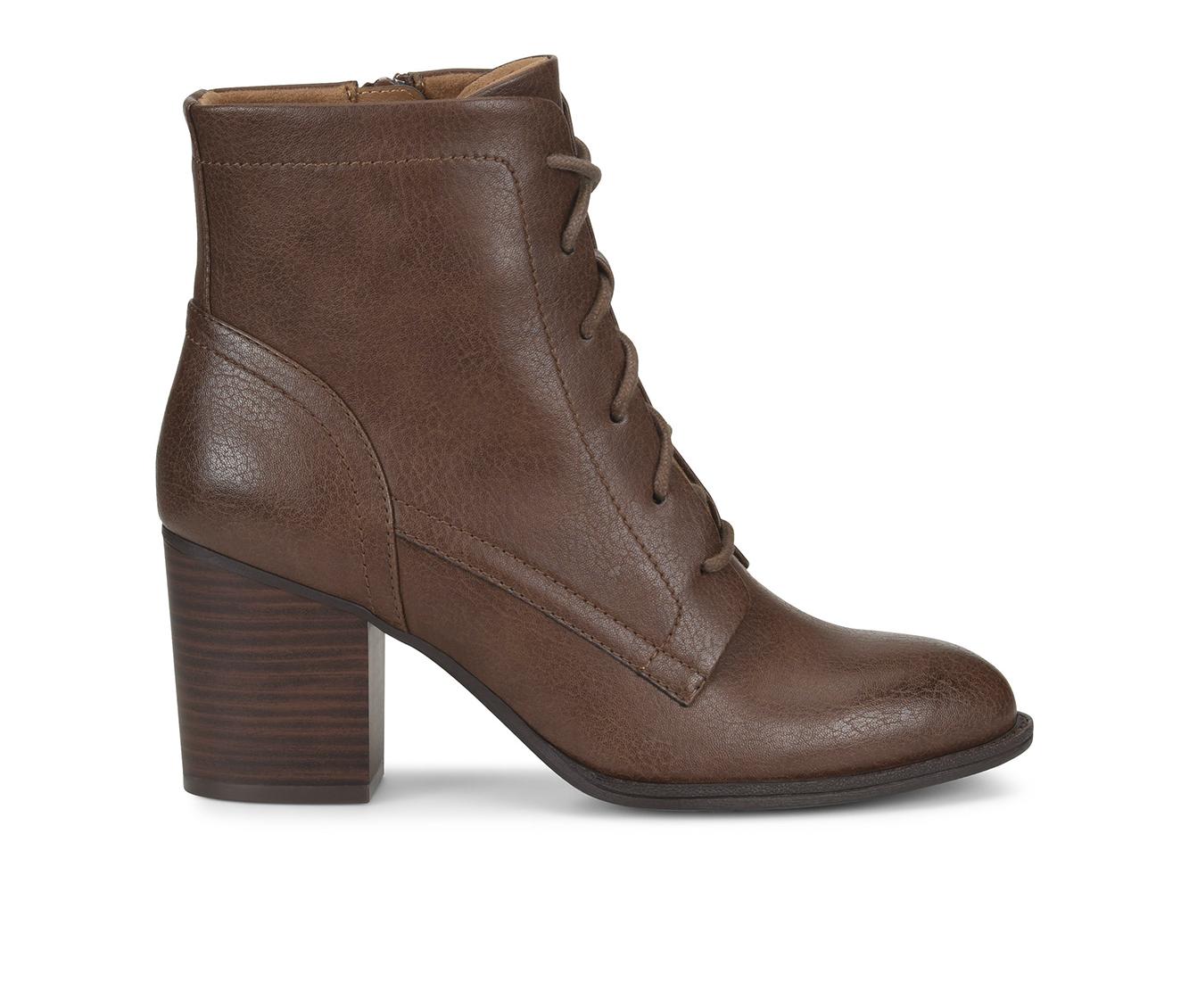 EuroSoft Shawna Women's Boot (Brown Faux Leather)