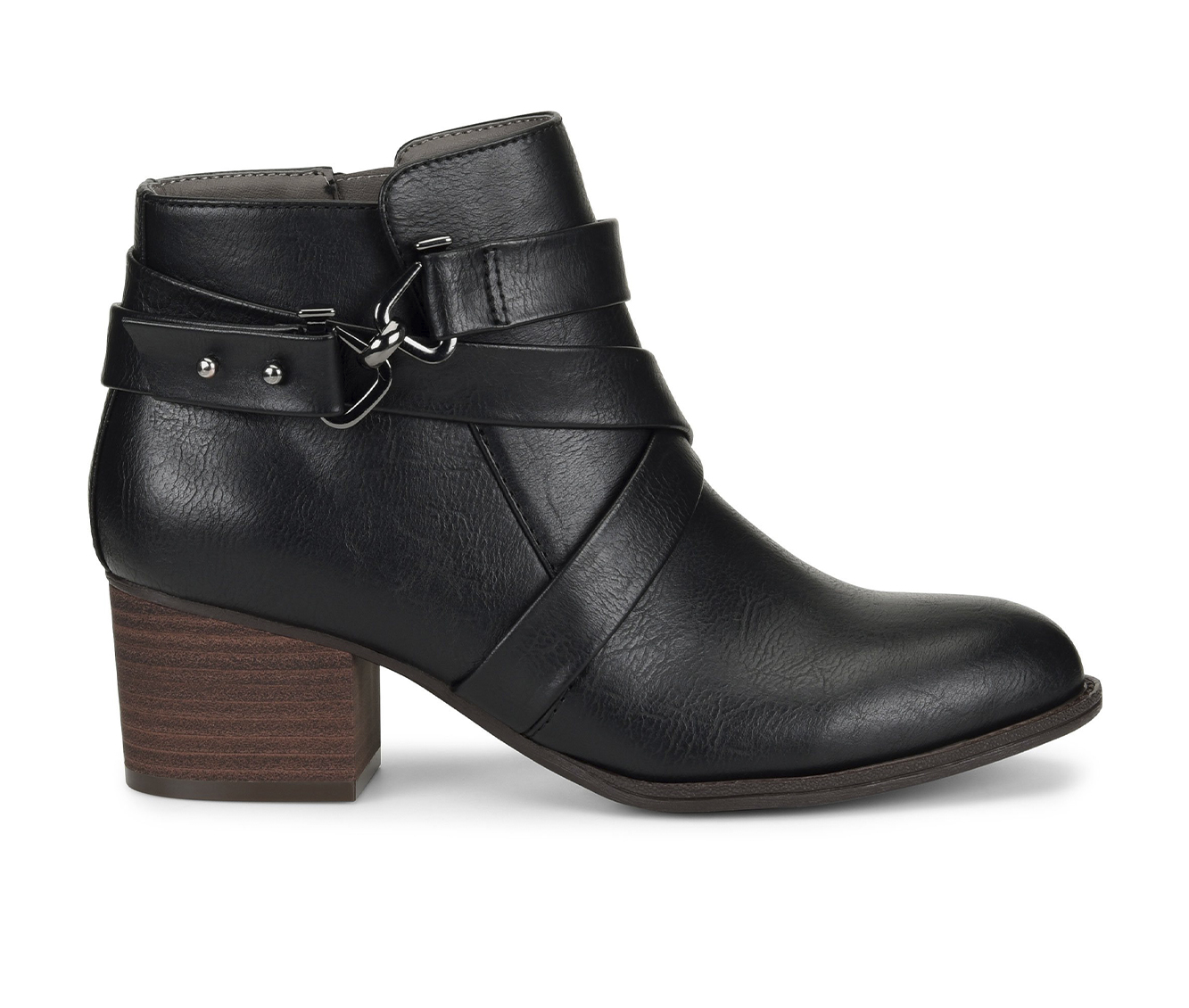EuroSoft Witlee Women's Boot (Black Faux Leather)