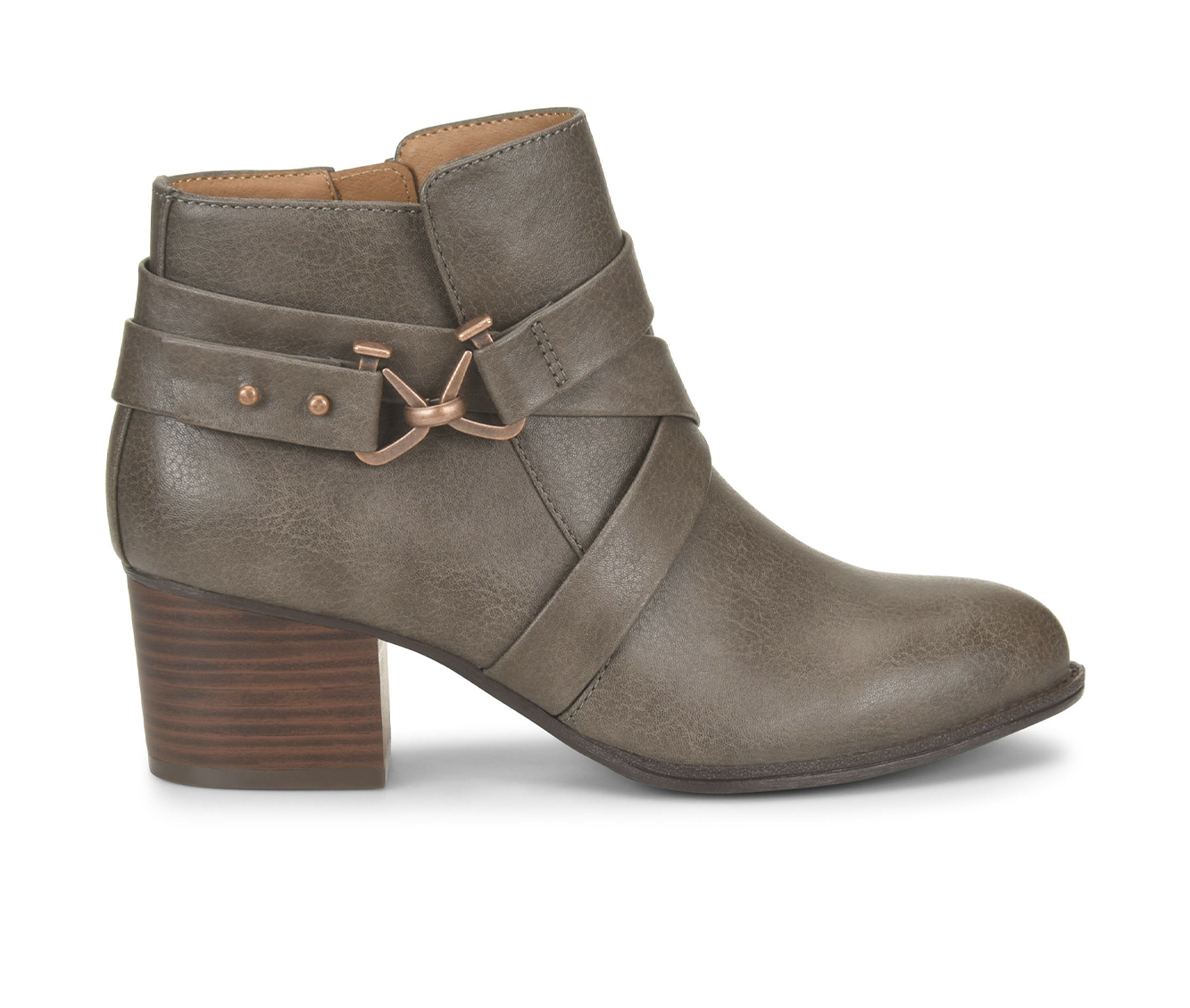 EuroSoft Witlee Women's Boot (Gray Faux Leather)