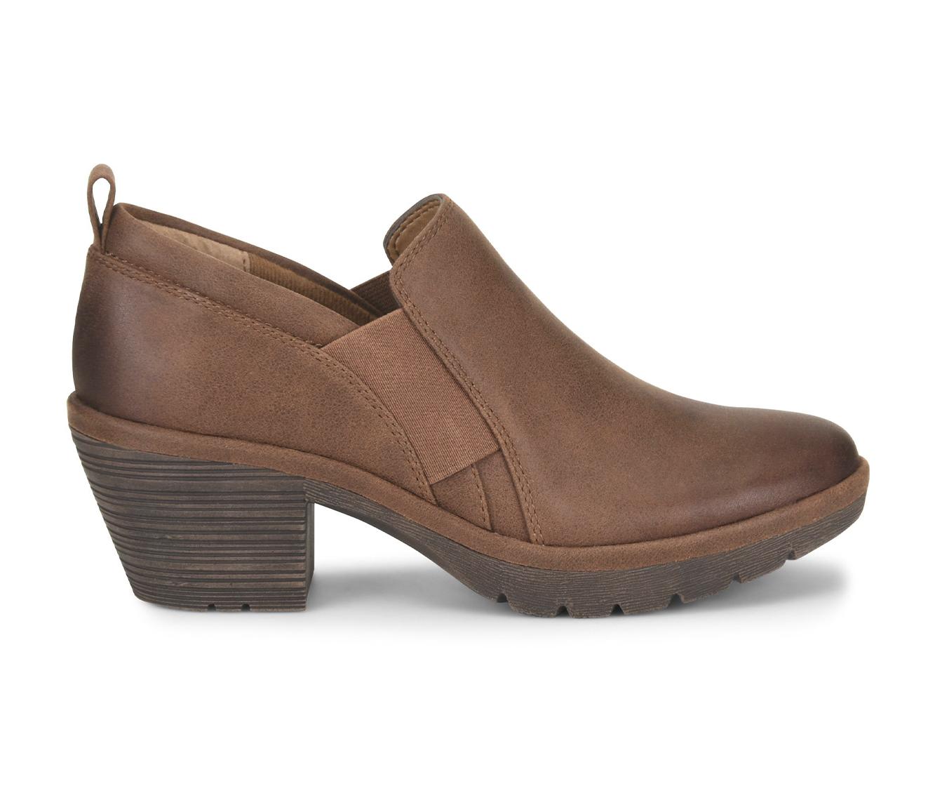 EuroSoft Temira Women's Shoe (Brown Faux Leather)