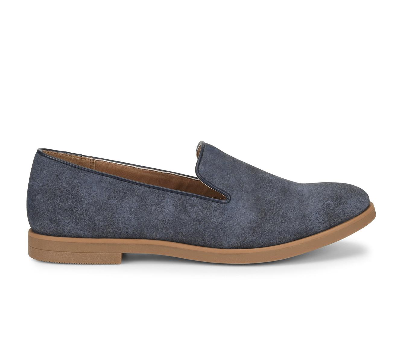 EuroSoft Vannah Women's Shoe (Blue Faux Leather)