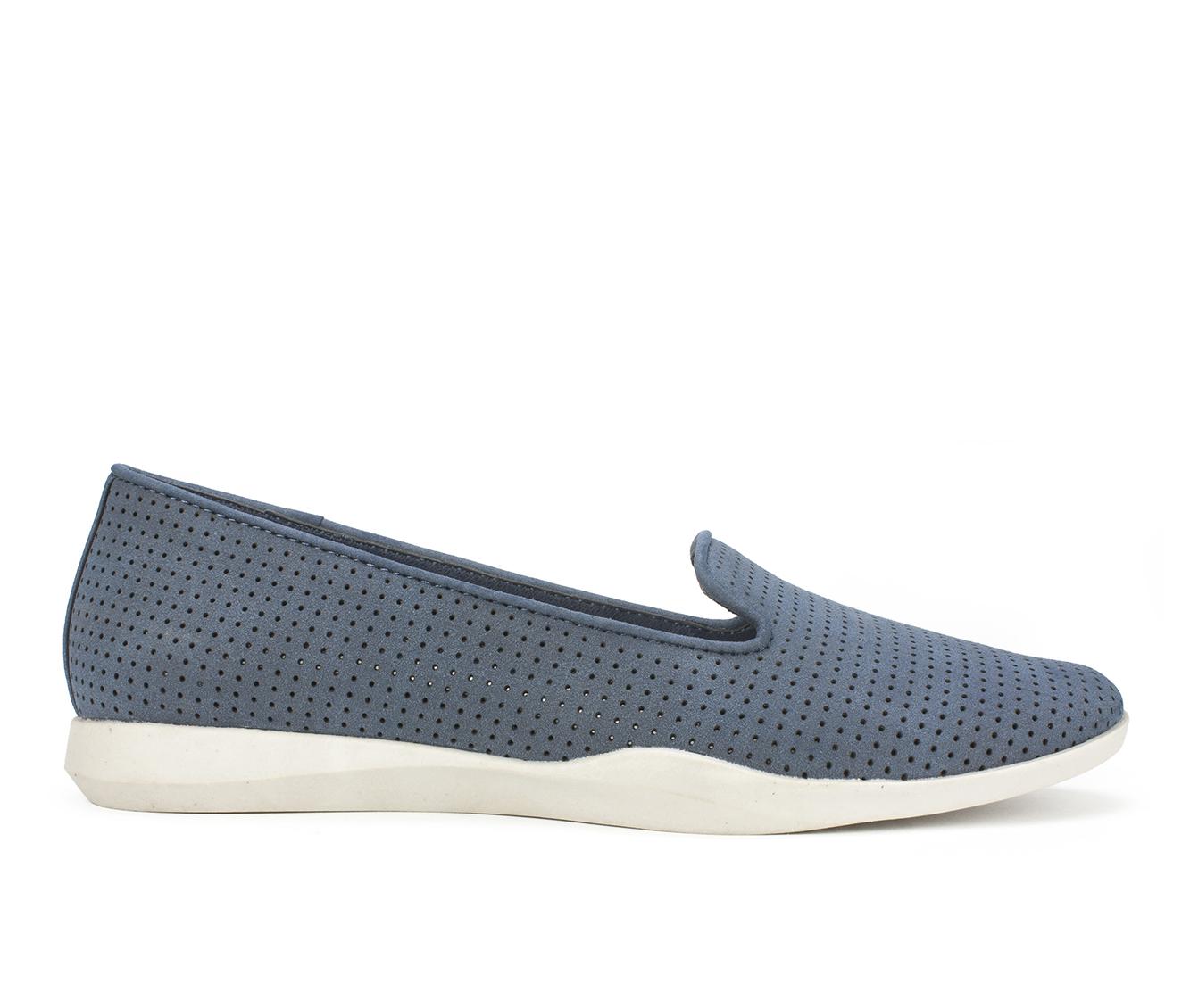 Cliffs Piper Women's Shoe (Blue Faux Leather)